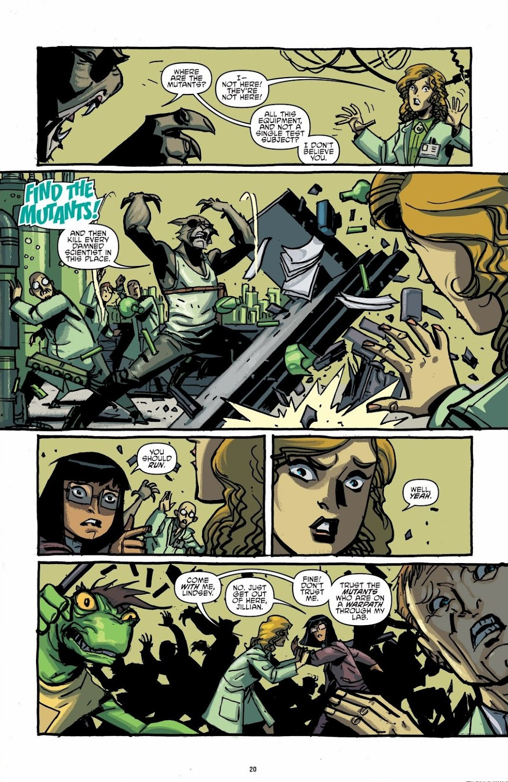Read online Teenage Mutant Ninja Turtles: The IDW Collection comic -  Issue # TPB 6 (Part 1) - 19
