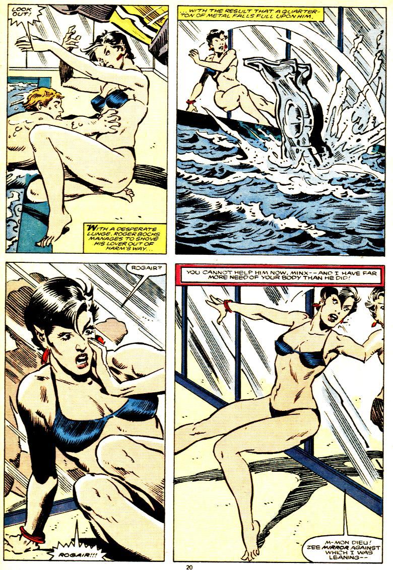 Read online Alpha Flight (1983) comic -  Issue # _Annual 1 - 21