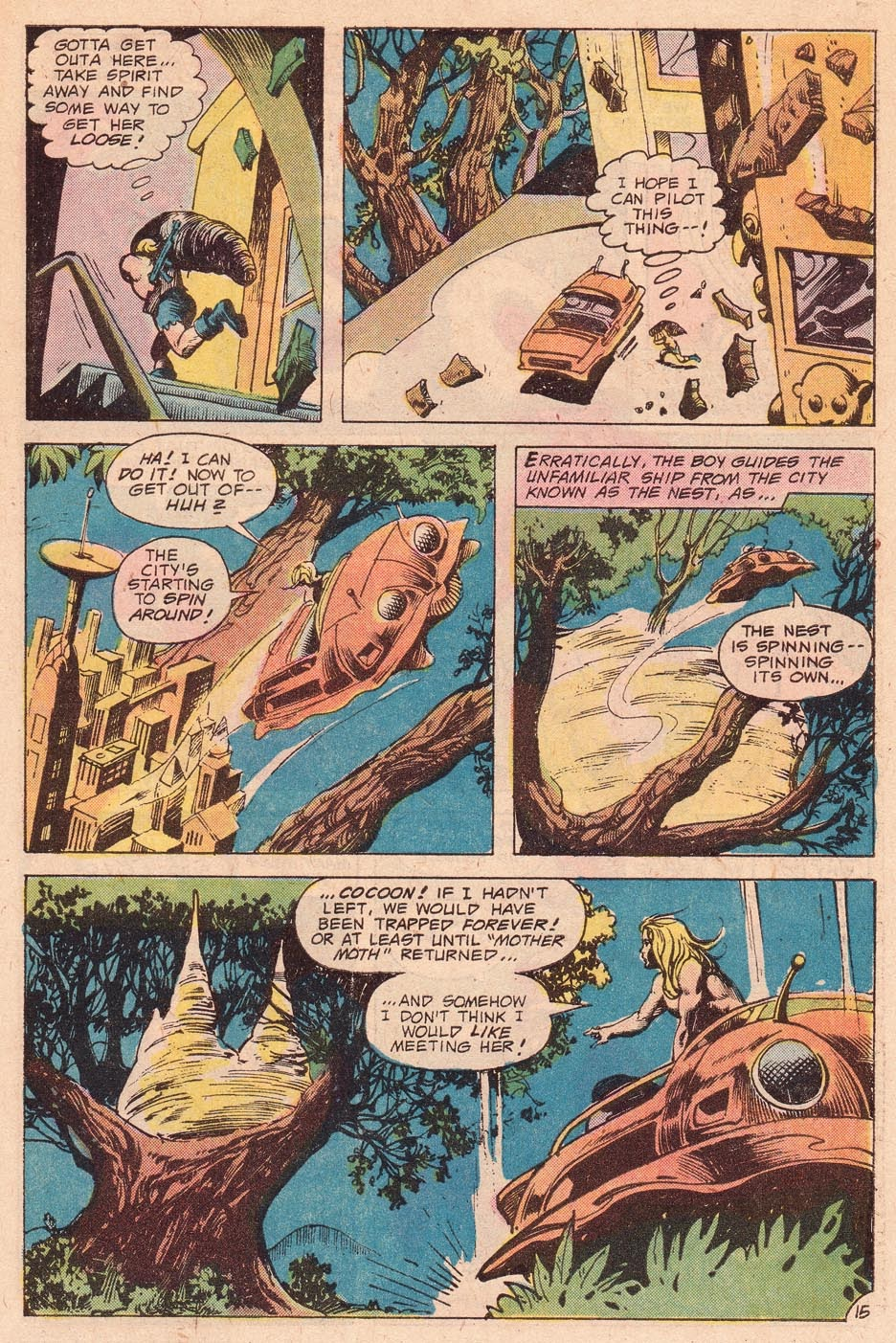 Kamandi, The Last Boy On Earth issue 54 - Page 17
