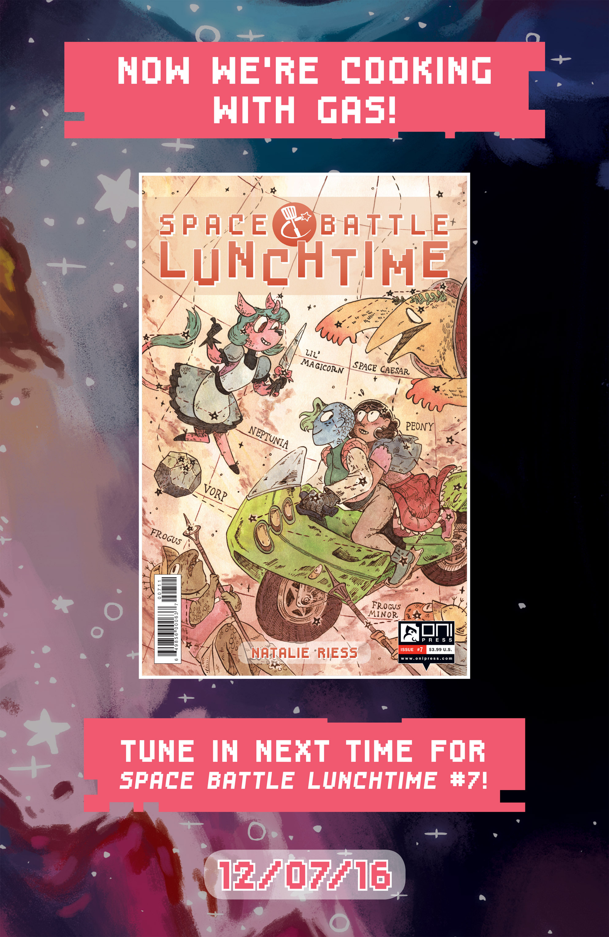 Read online Space Battle Lunchtime comic -  Issue #6 - 24