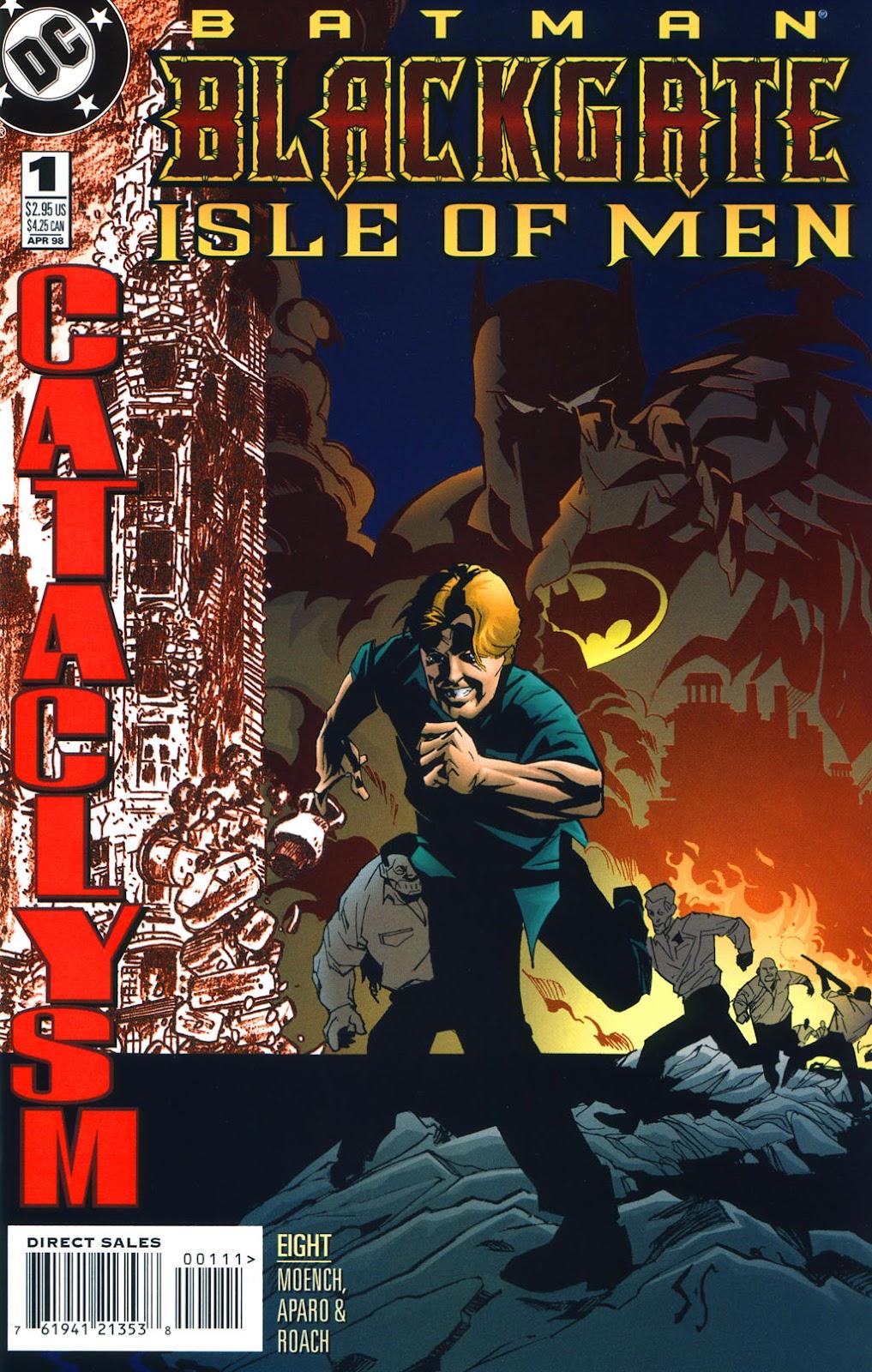 Batman: Blackgate - Isle of Men issue Full - Page 1