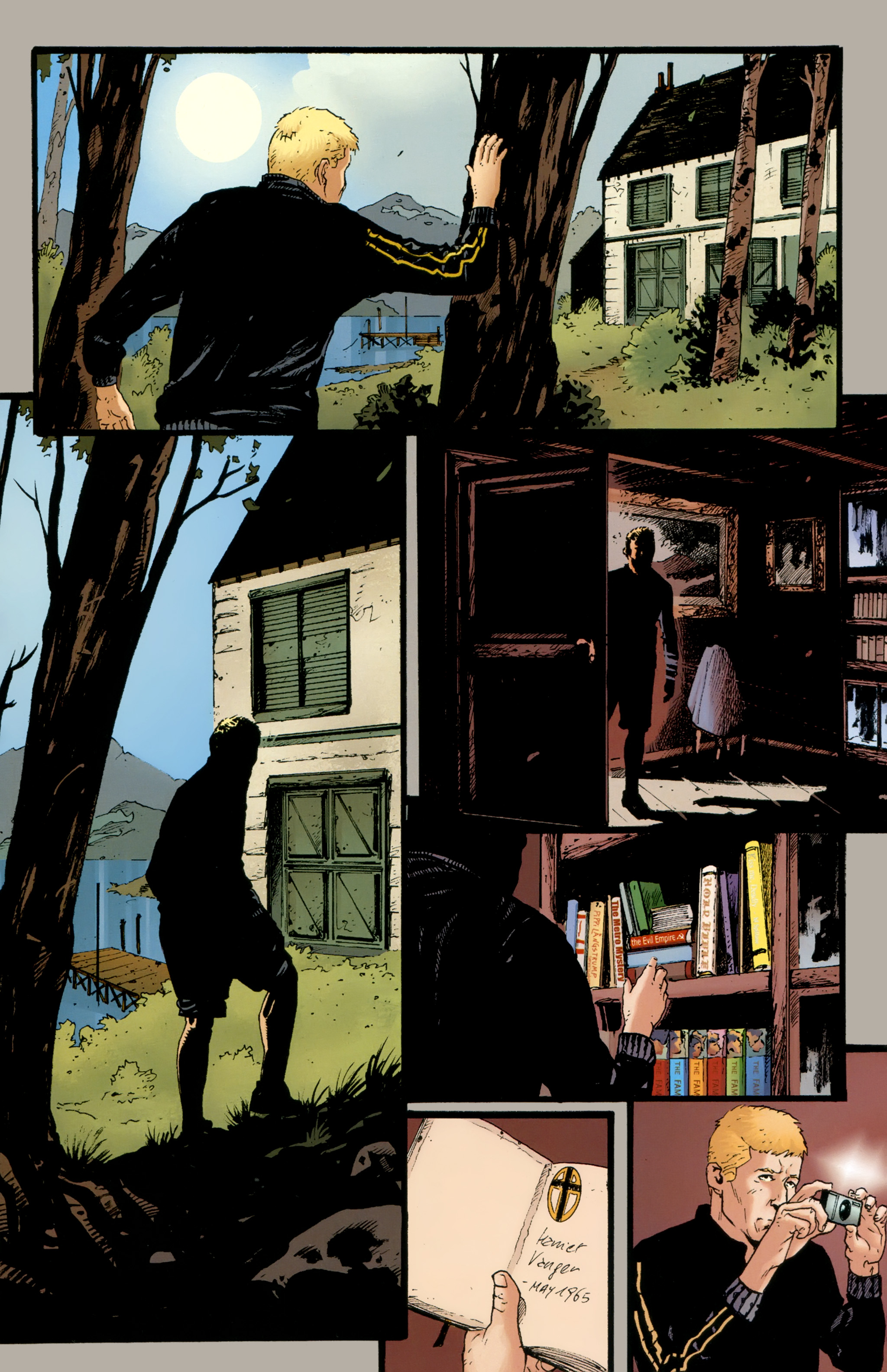 Read online The Girl With the Dragon Tattoo comic -  Issue # TPB 2 - 22
