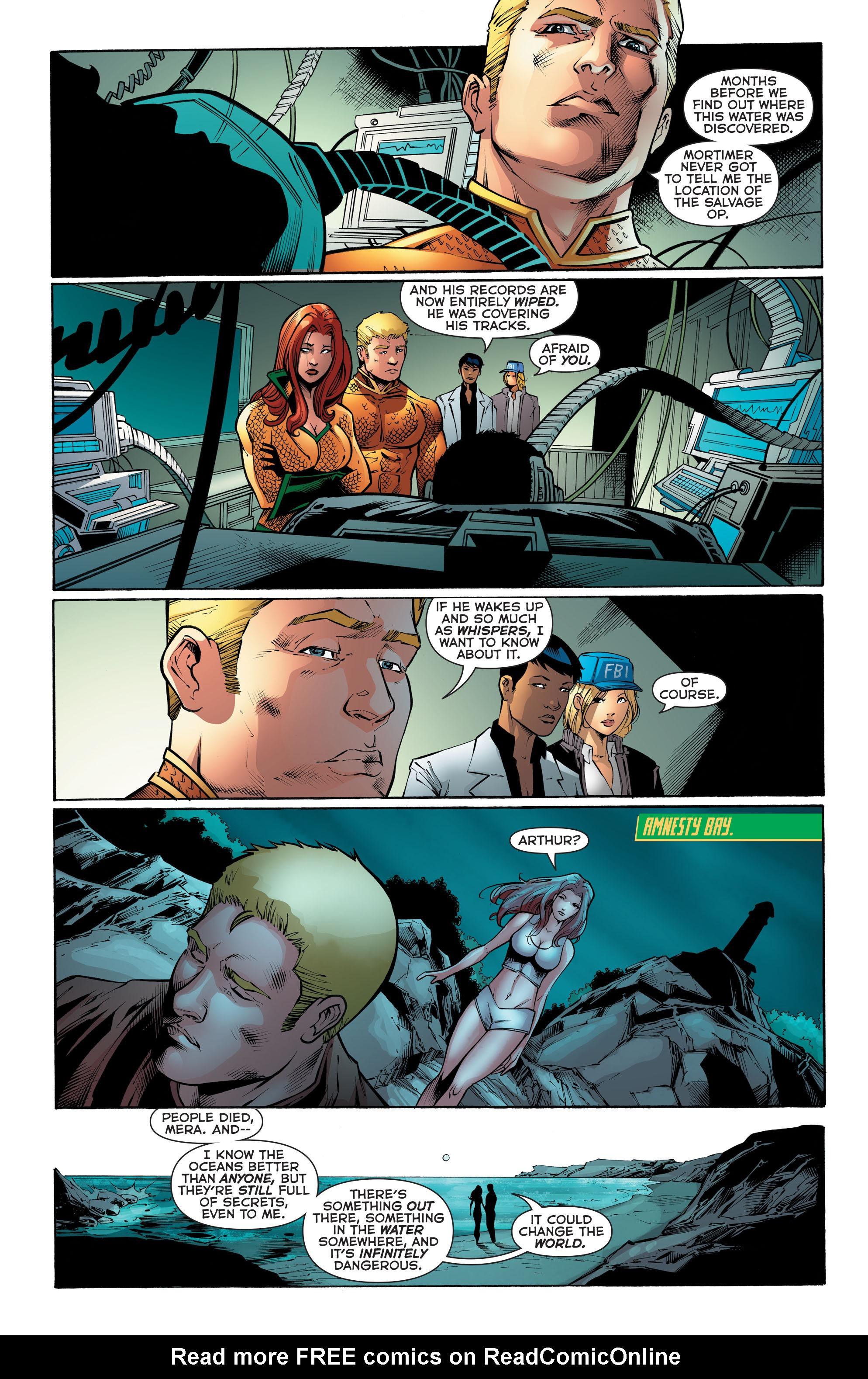Read online Aquaman (2011) comic -  Issue #52 - 22