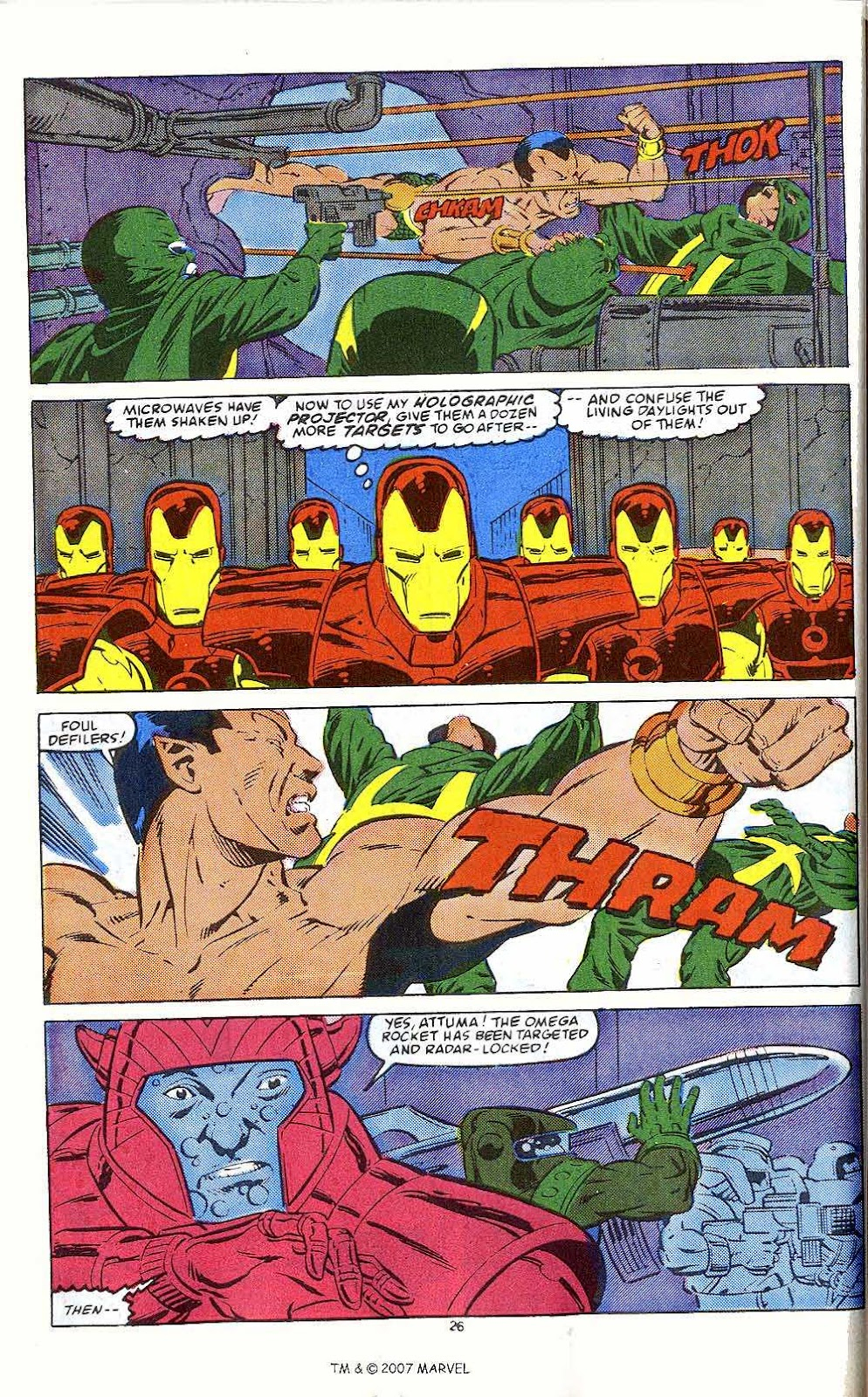 Iron Man Annual issue 10 - Page 28