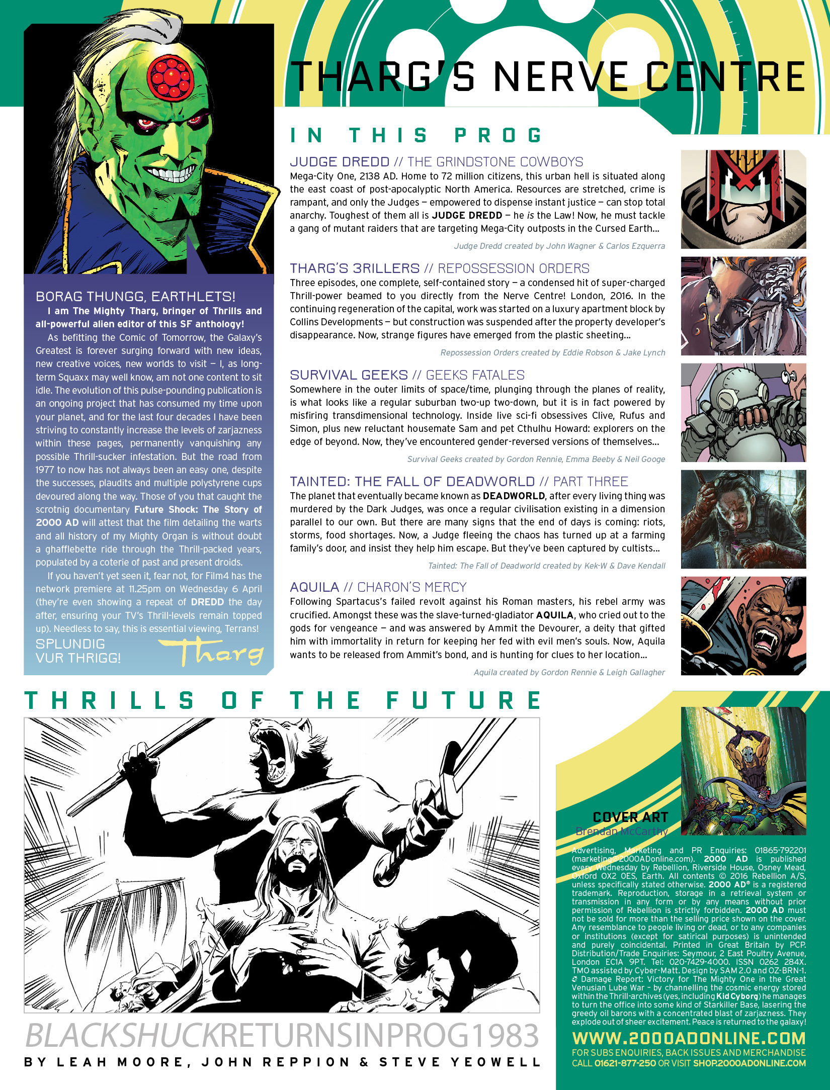Read online 2000 AD comic -  Issue #1975 - 2