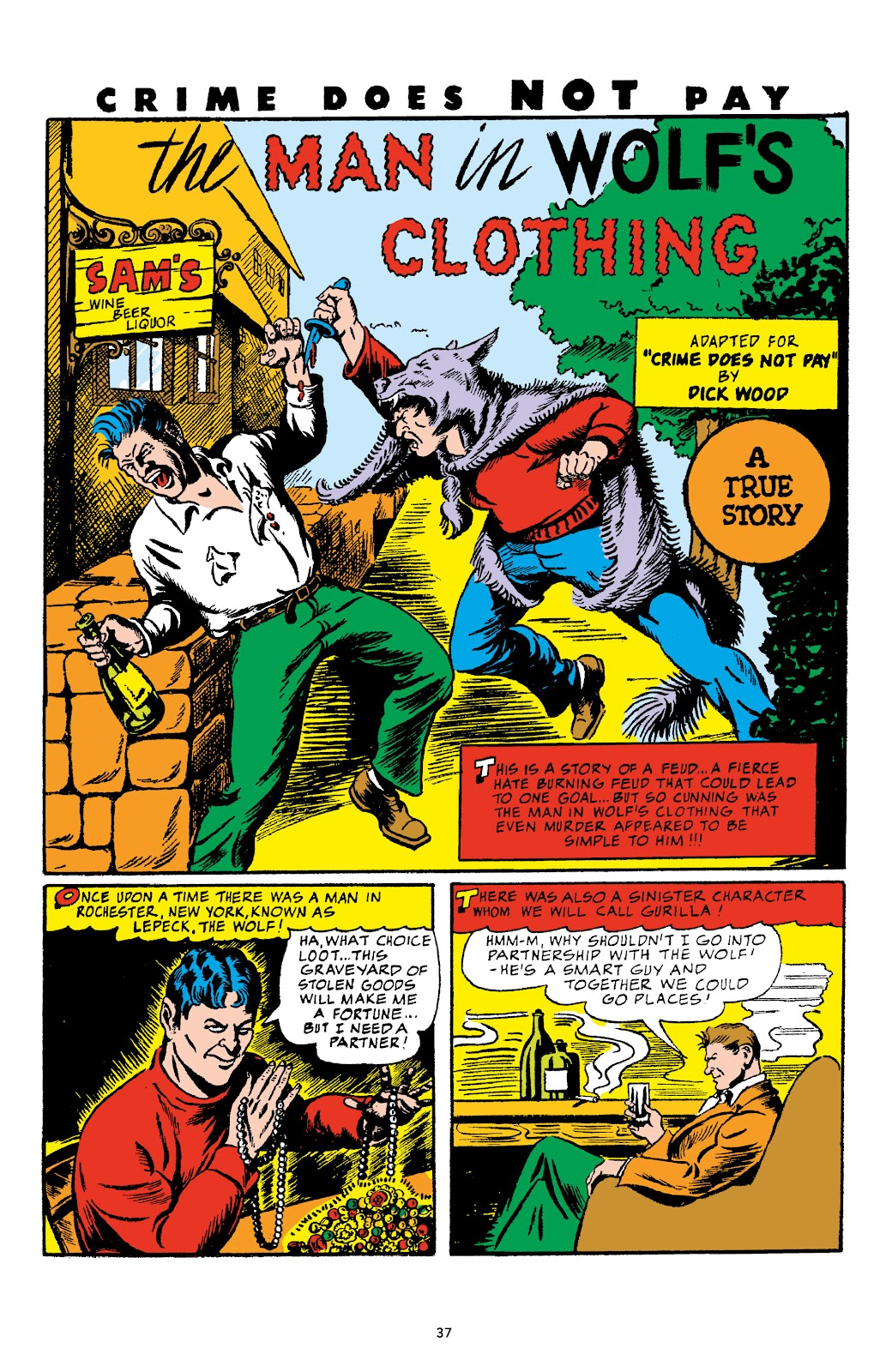 Read online Crime Does Not Pay Archives comic -  Issue # TPB 4 (Part 1) - 37