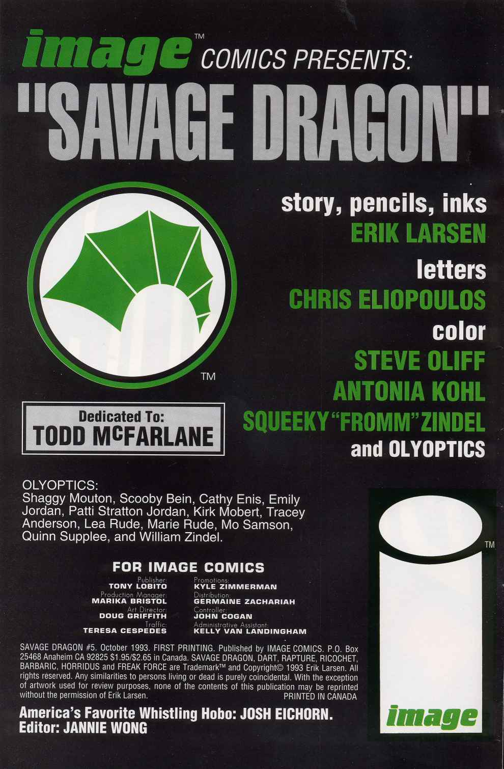 The Savage Dragon (1993) Issue #5 #7 - English 2