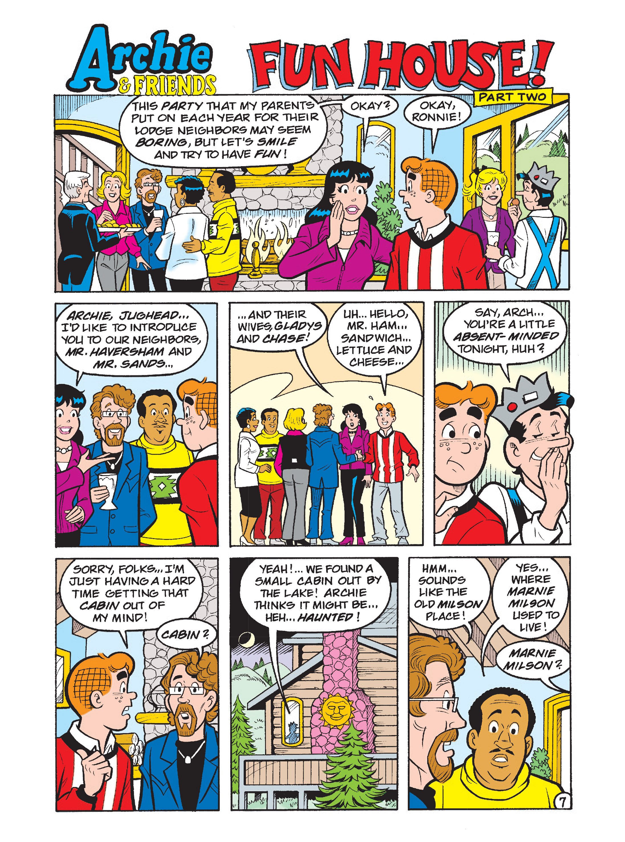 Read online Archie's Funhouse Double Digest comic -  Issue #1 - 8