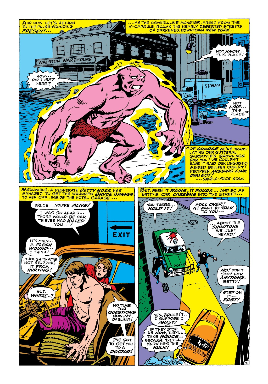 Read online Marvel Masterworks: The Incredible Hulk comic -  Issue # TPB 4 (Part 1) - 56