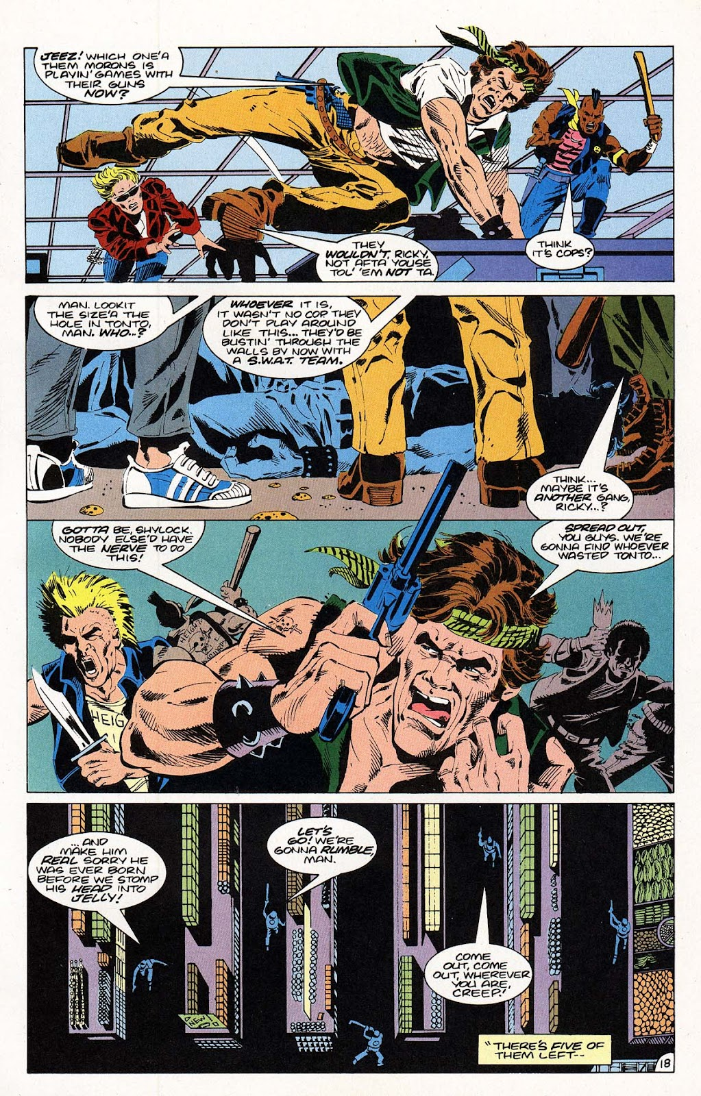 Vigilante (1983) issue 22 - Page 19