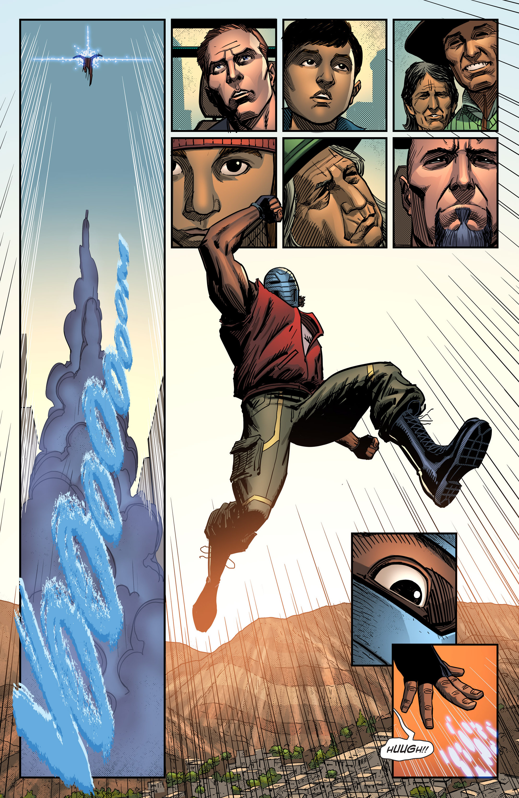 Read online Noble comic -  Issue #1 - 9