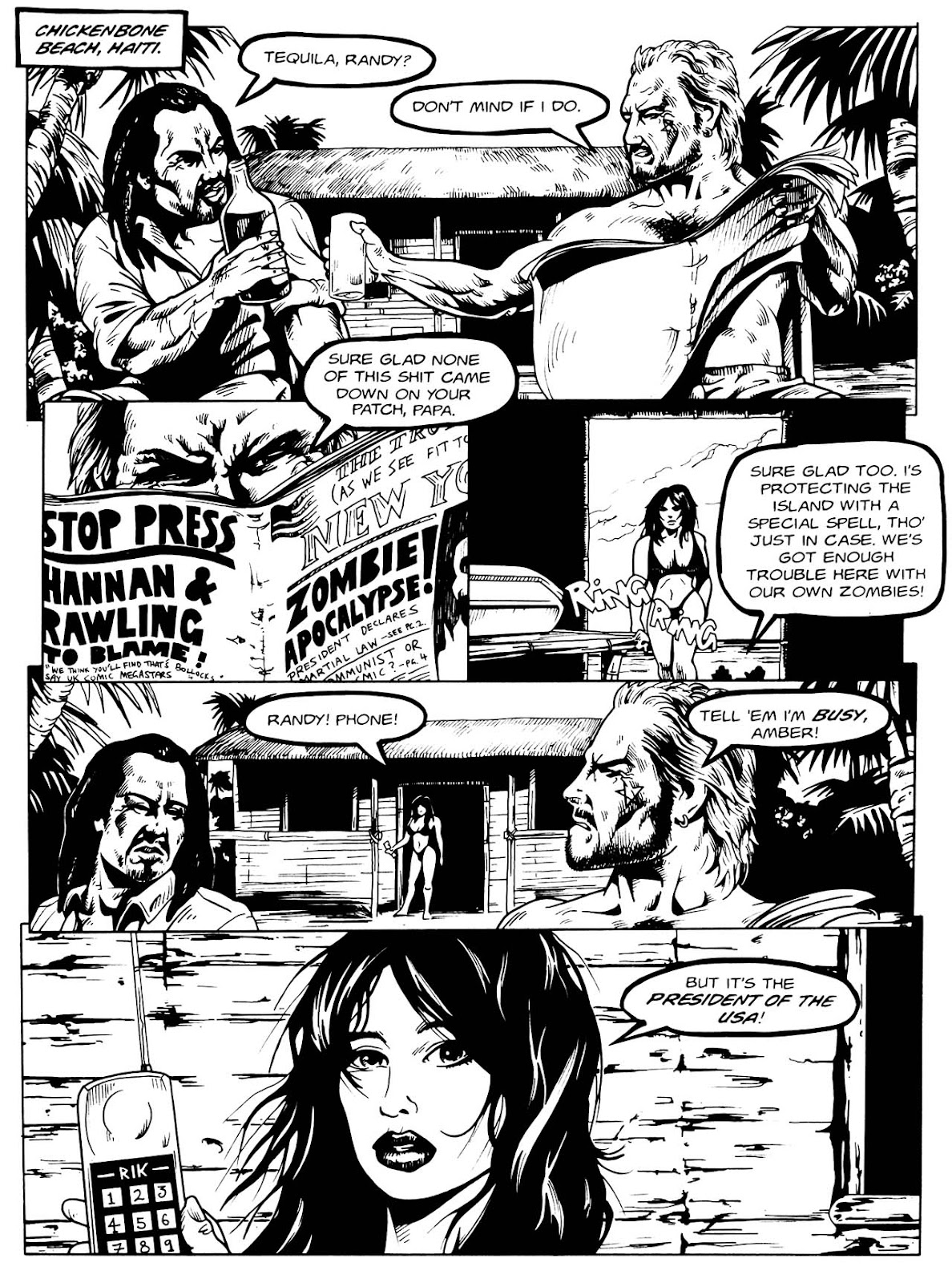 Read online Night of the Living Dead (1994) comic -  Issue #3 - 6