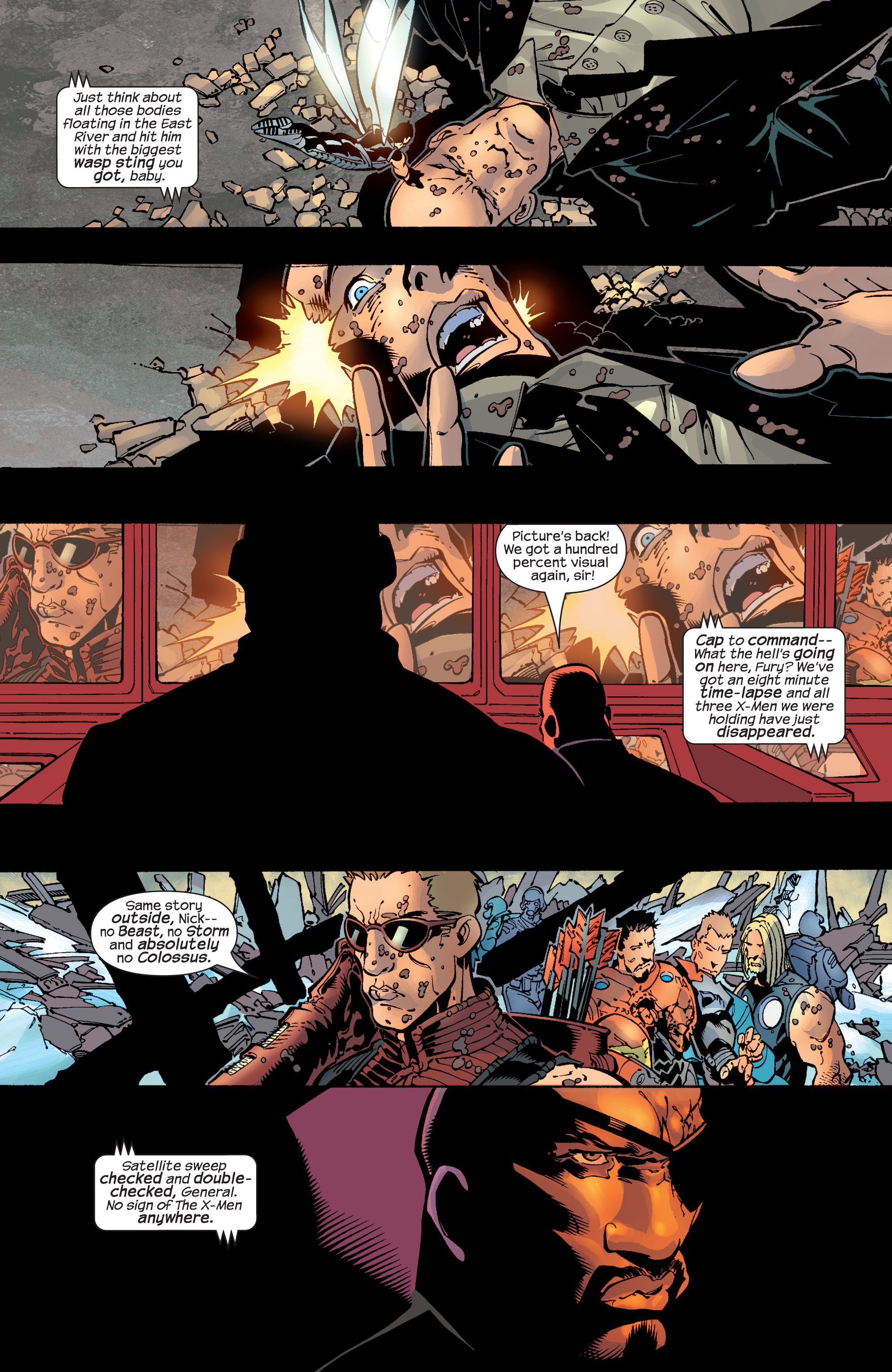 Read online Ultimate War comic -  Issue #4 - 24