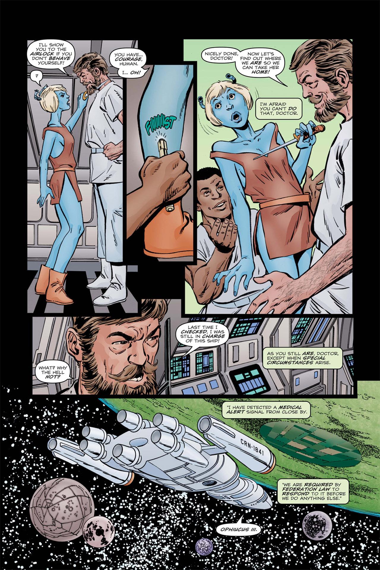 Read online Star Trek: Leonard McCoy, Frontier Doctor comic -  Issue #1 - 10