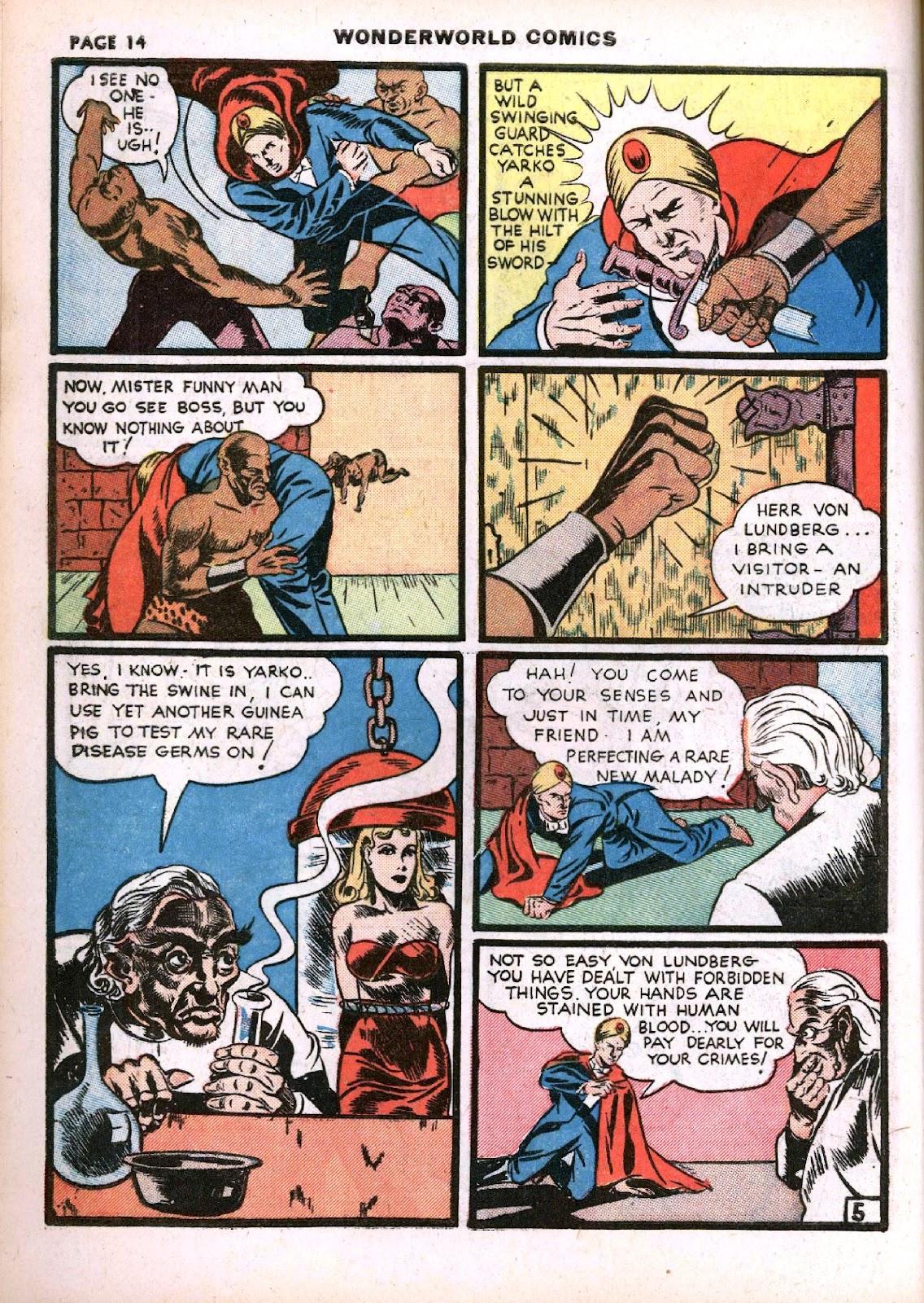 Wonderworld Comics issue 14 - Page 16