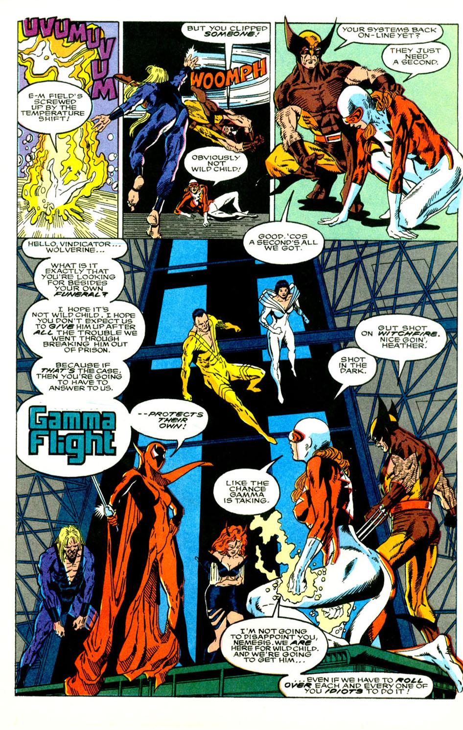 Read online Alpha Flight (1983) comic -  Issue #89 - 20