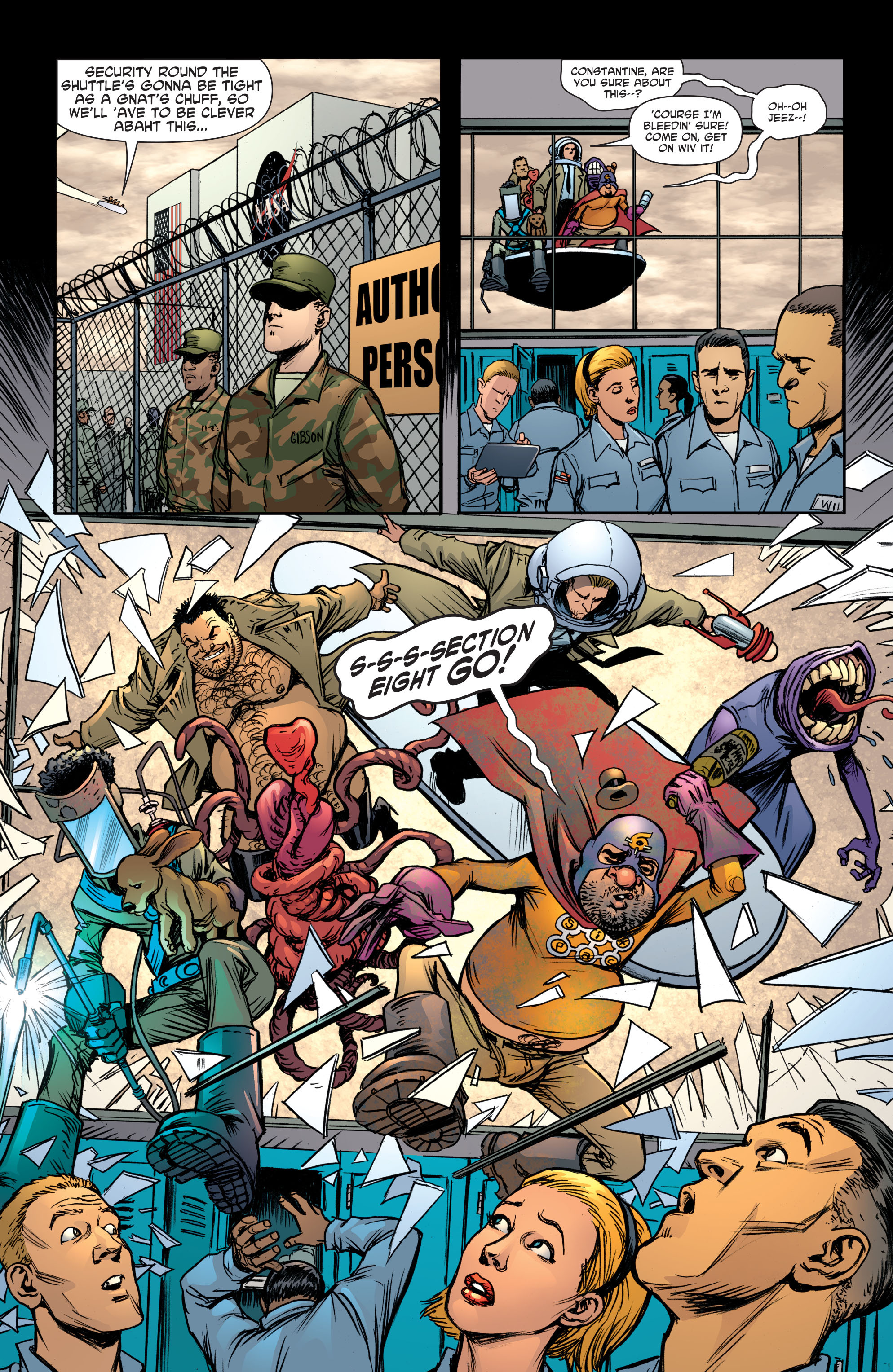 Read online Sixpack and Dogwelder: Hard Travelin' Heroz comic -  Issue #5 - 10