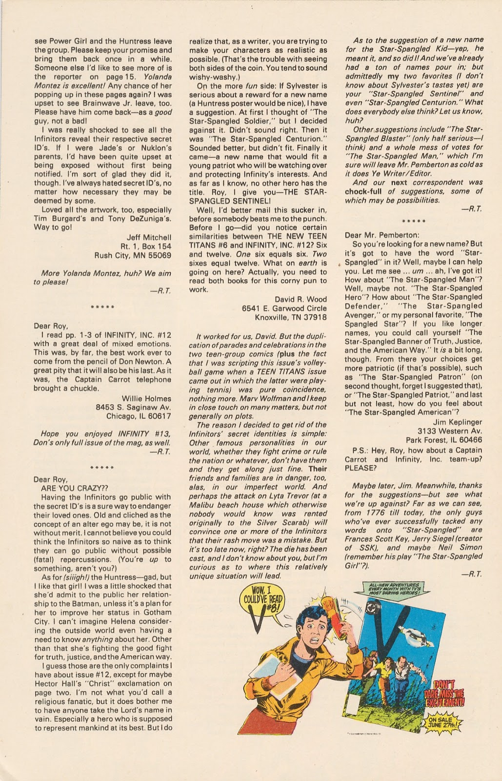 Infinity Inc. (1984) issue 17 - Page 33