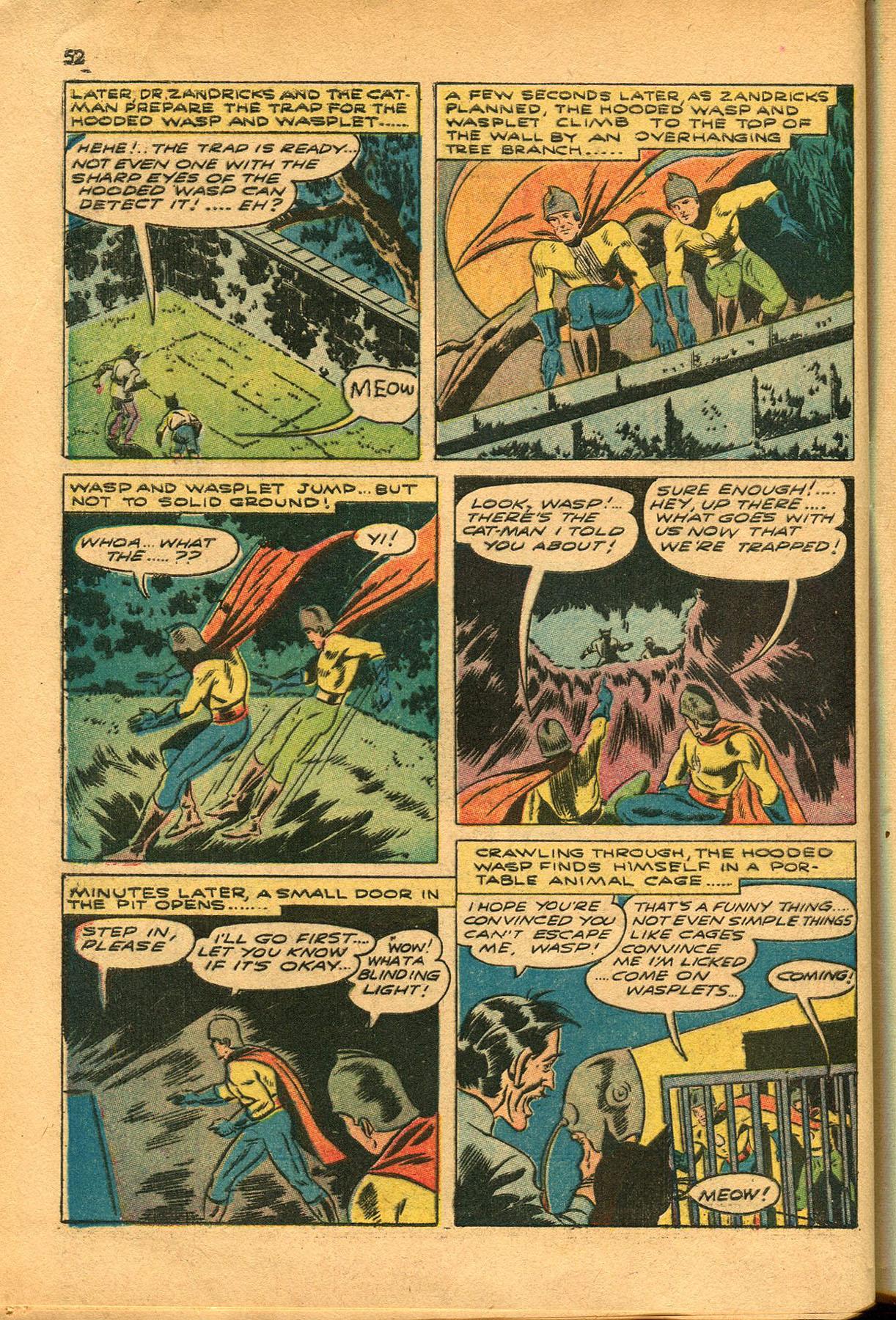 Read online Shadow Comics comic -  Issue #23 - 52