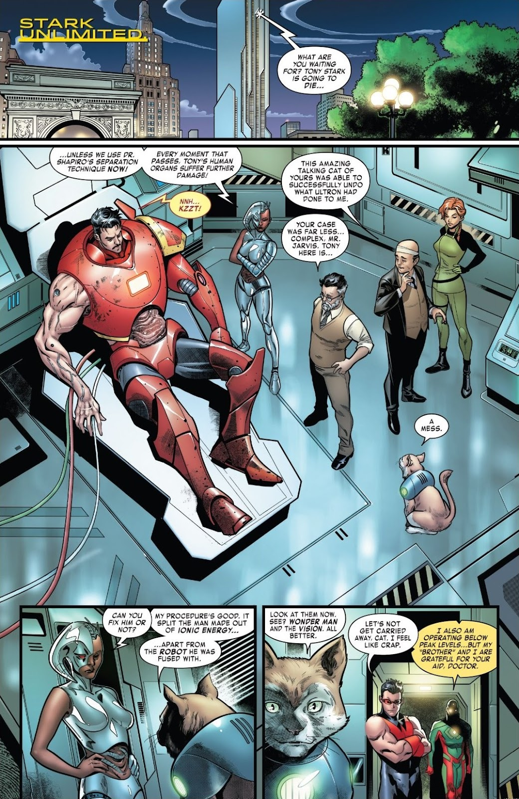 Read online Tony Stark: Iron Man comic -  Issue #18 - 4