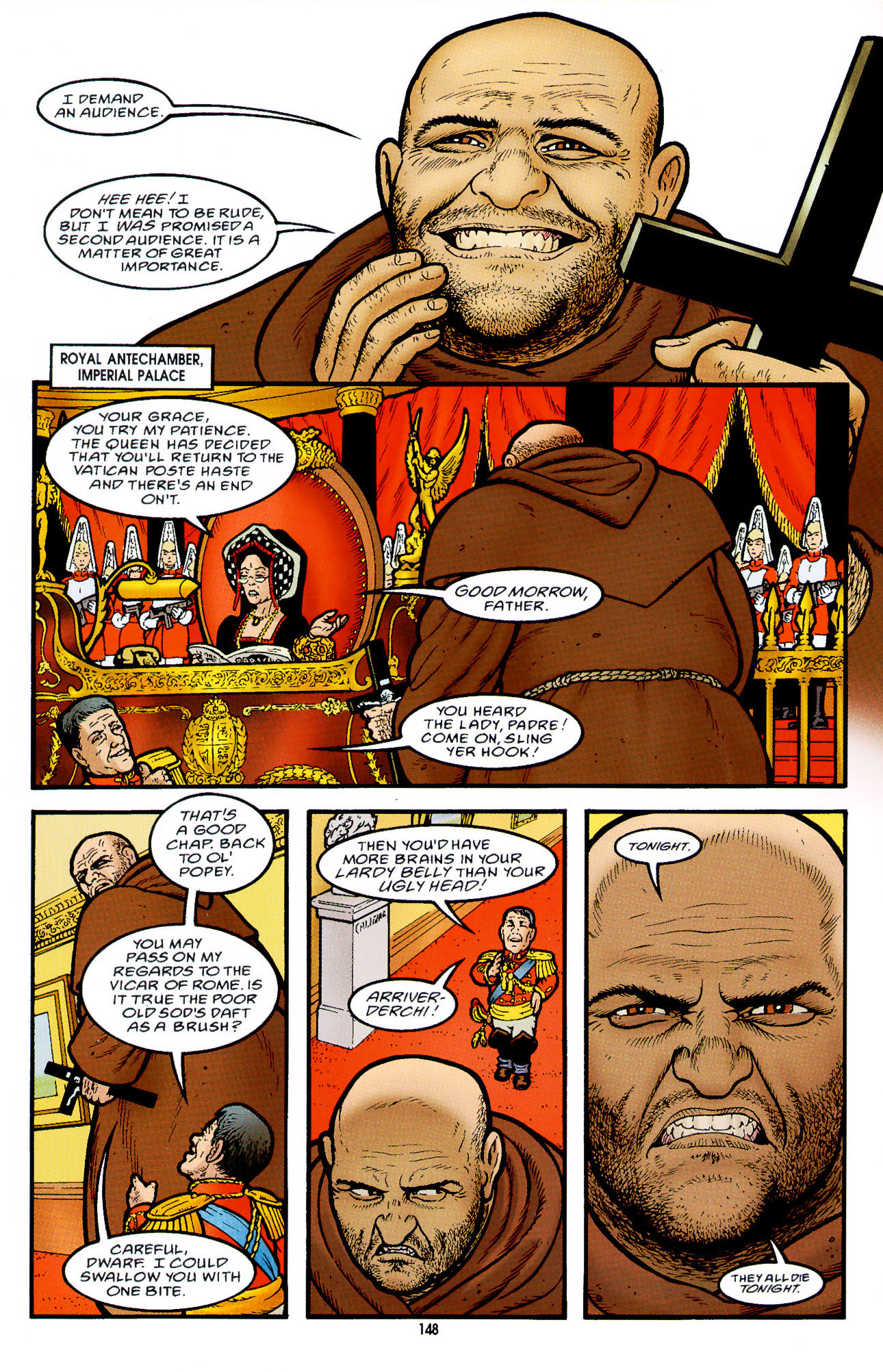 Read online Heart of Empire comic -  Issue #5 - 24