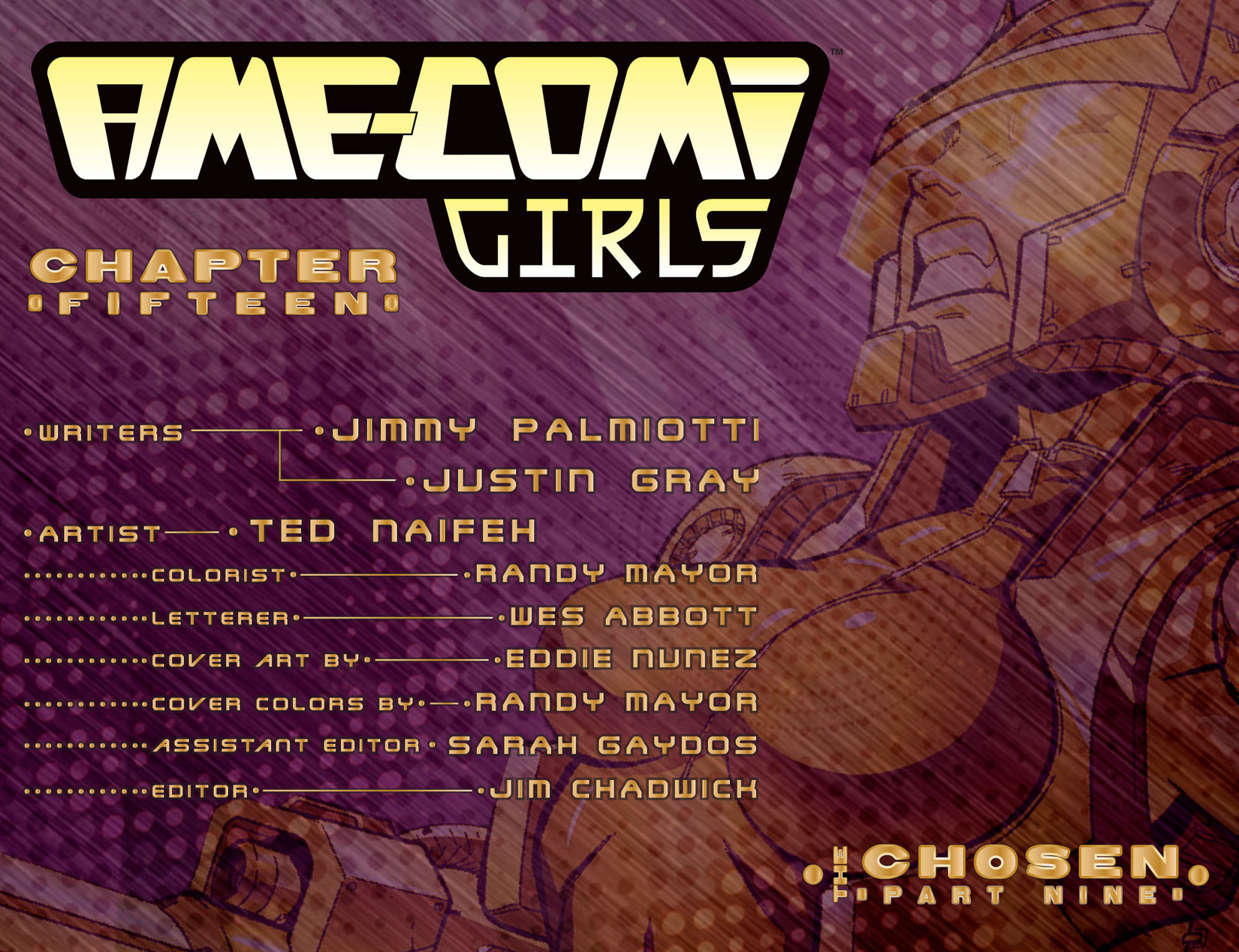 Read online Ame-Comi Girls comic -  Issue #15 - 2