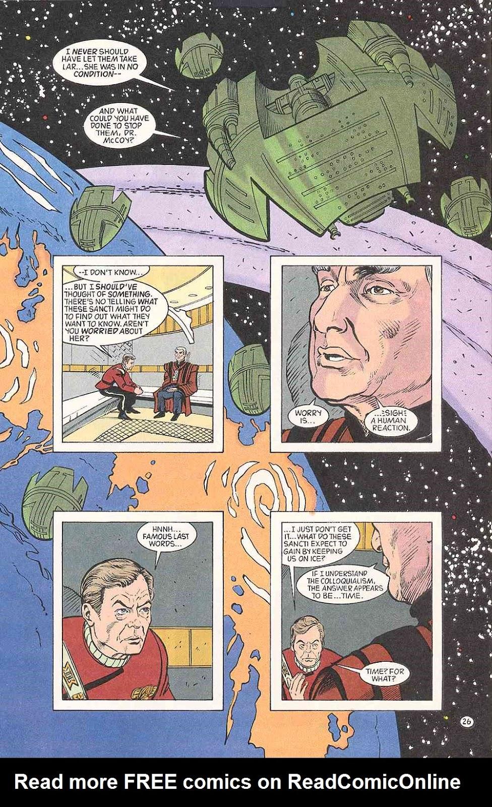 Read online Star Trek (1989) comic -  Issue # Annual 3 - 30