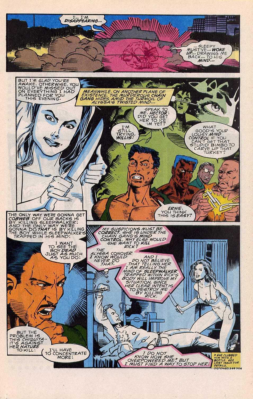 Read online Sleepwalker comic -  Issue #22 - 8
