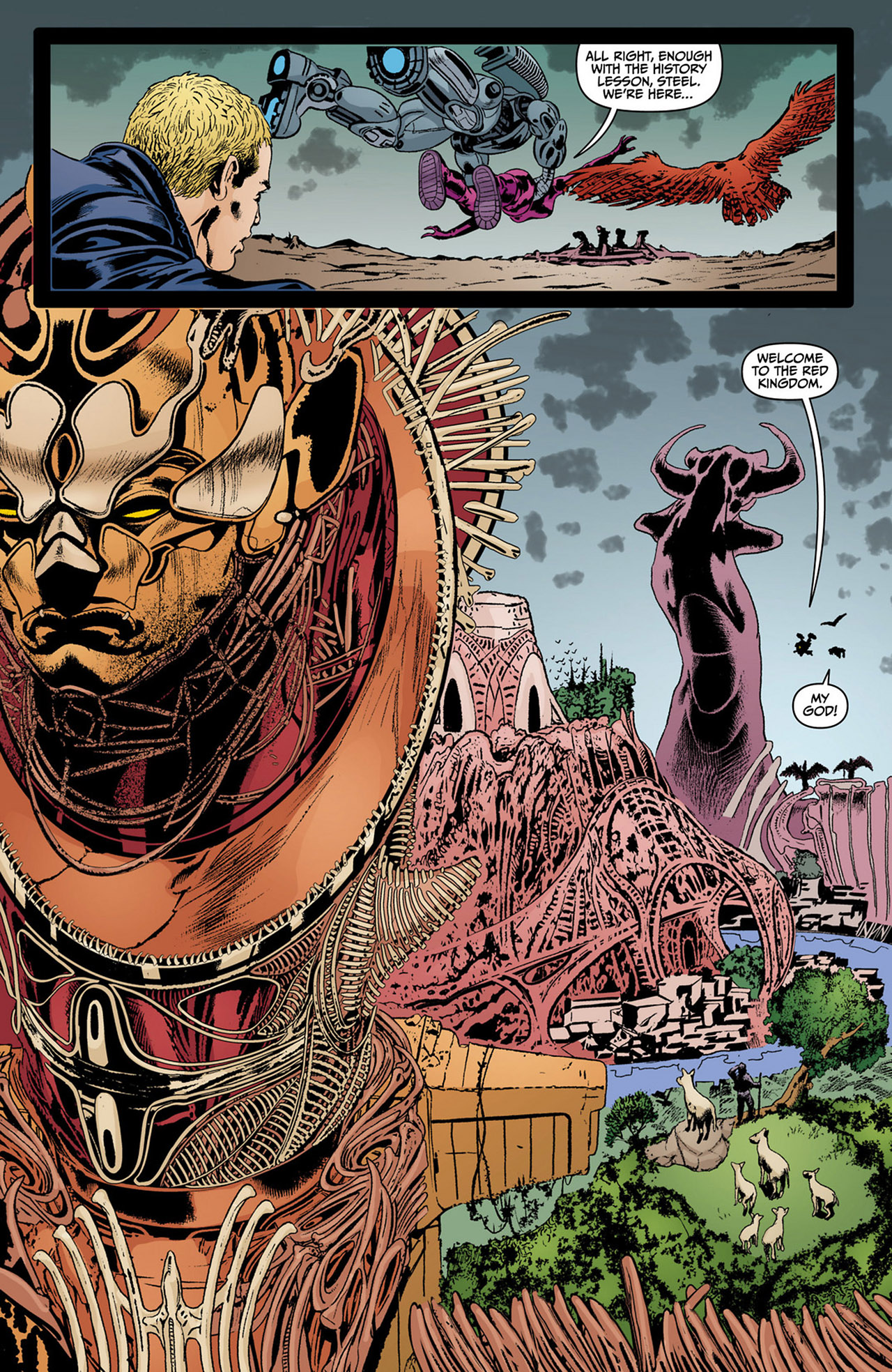 Read online Animal Man (2011) comic -  Issue #13 - 13