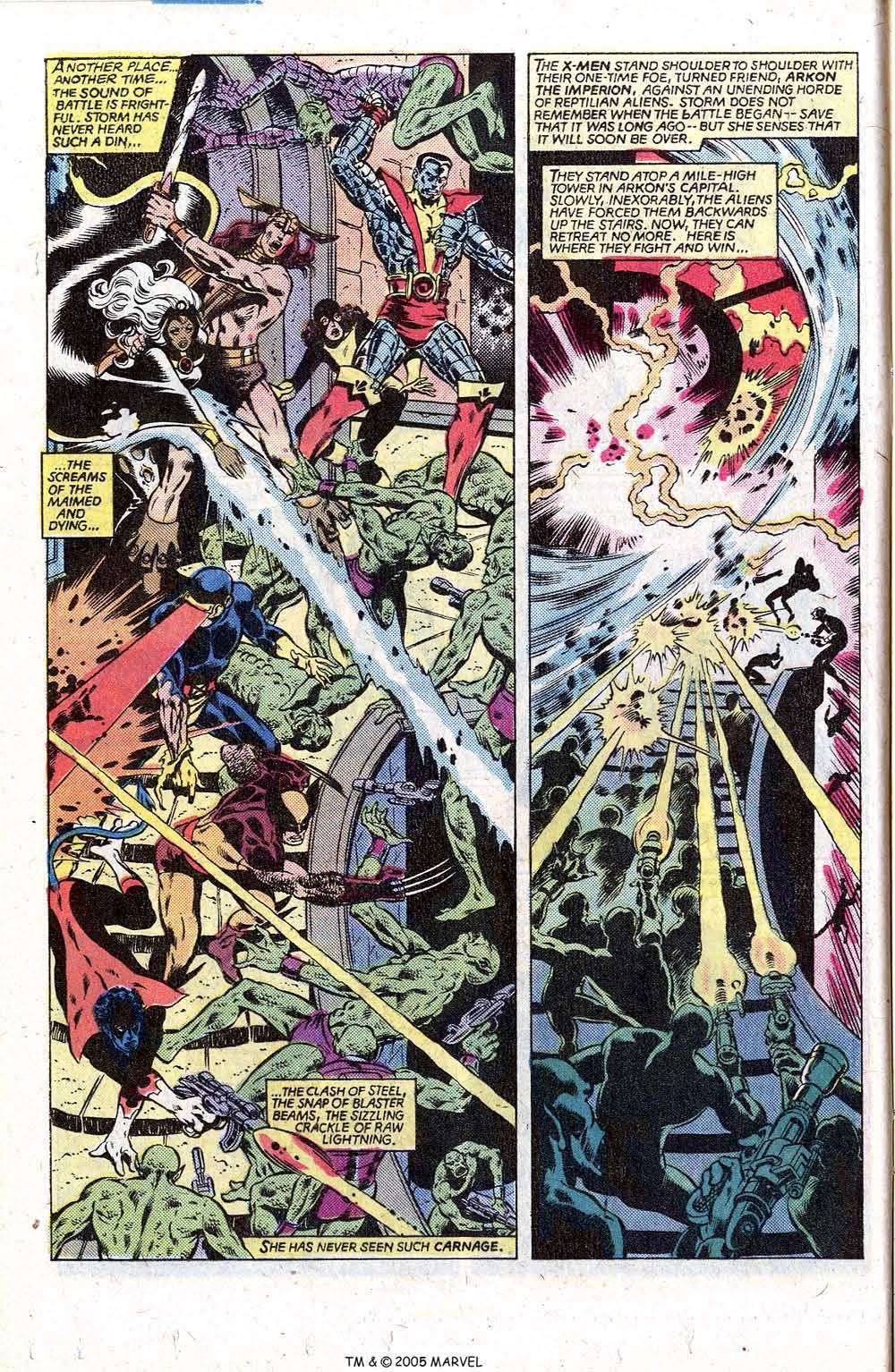 Read online Uncanny X-Men (1963) comic -  Issue # _Annual 5 - 12