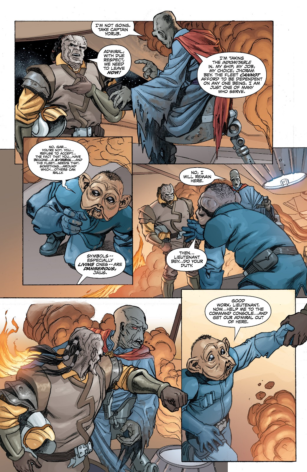 Read online Star Wars Legends: Legacy - Epic Collection comic -  Issue # TPB 2 (Part 1) - 48