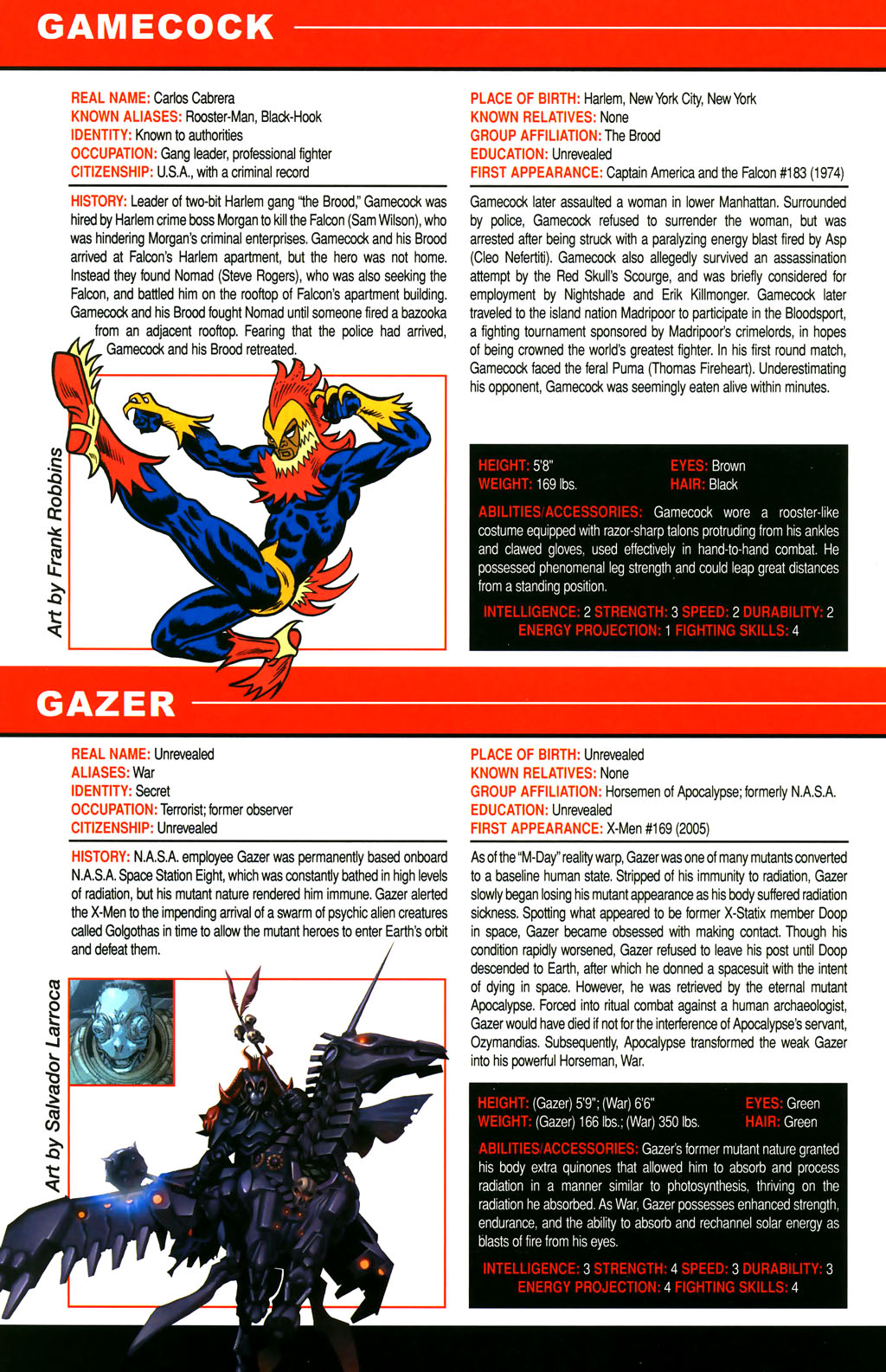 Read online All-New Official Handbook of the Marvel Universe A to Z comic -  Issue #4 - 52
