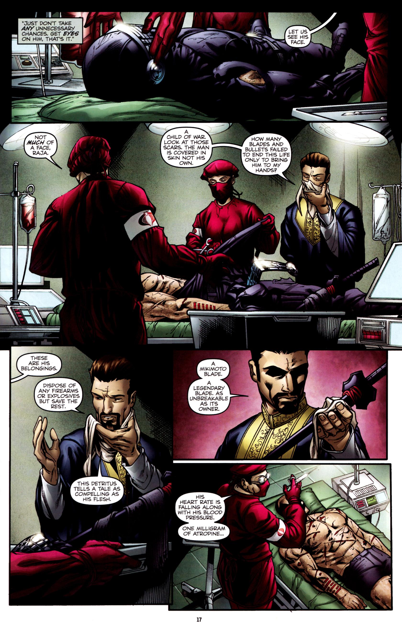 Read online G.I. Joe: Snake Eyes comic -  Issue #2 - 20