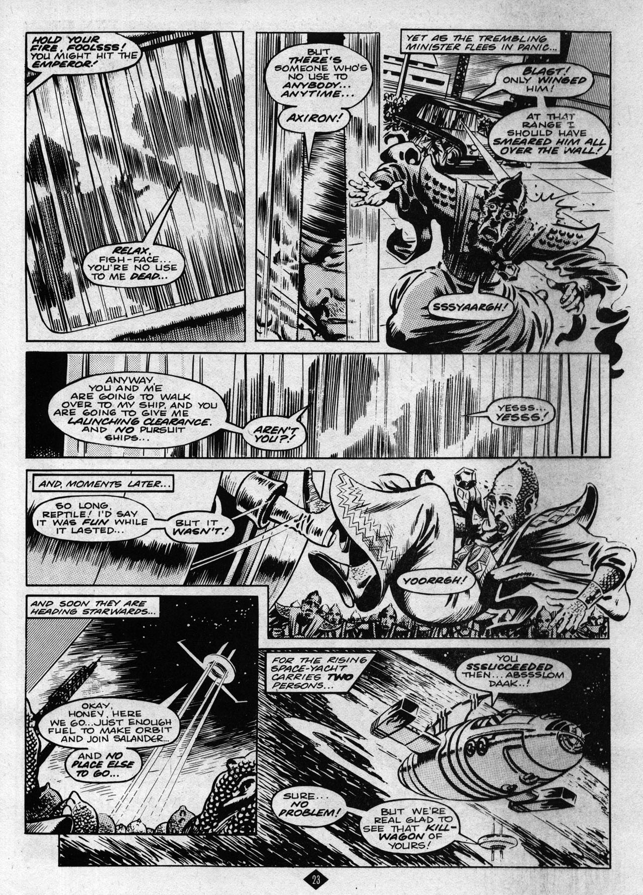 Captain Britain (1985) 8 Page 23