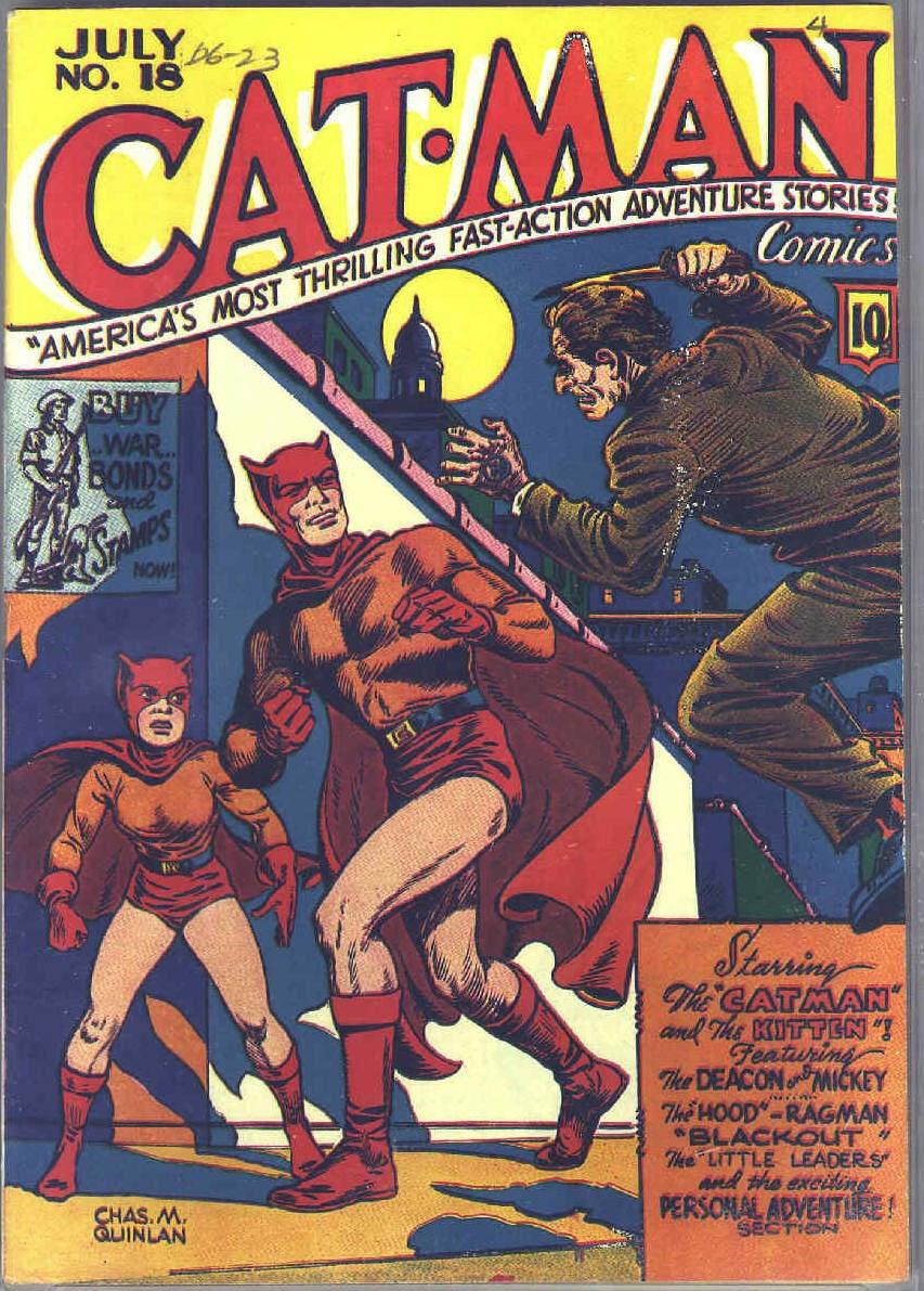Cat-Man Comics 18 Page 1