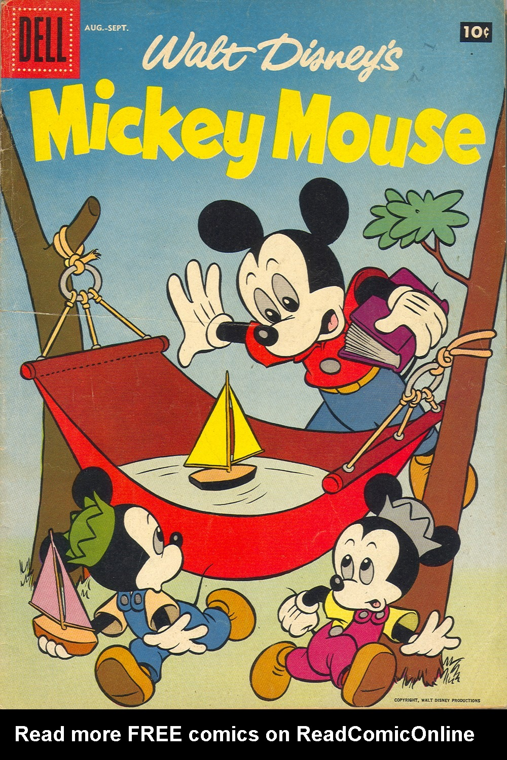 Walt Disney's Mickey Mouse issue 55 - Page 1