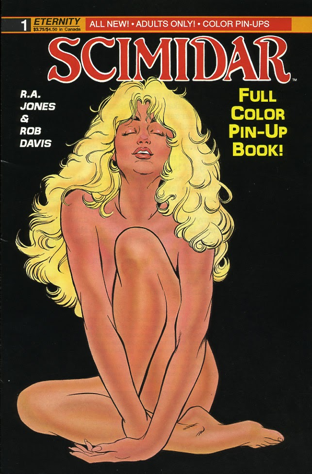 Scimidar Pin-Up Book issue Full - Page 1