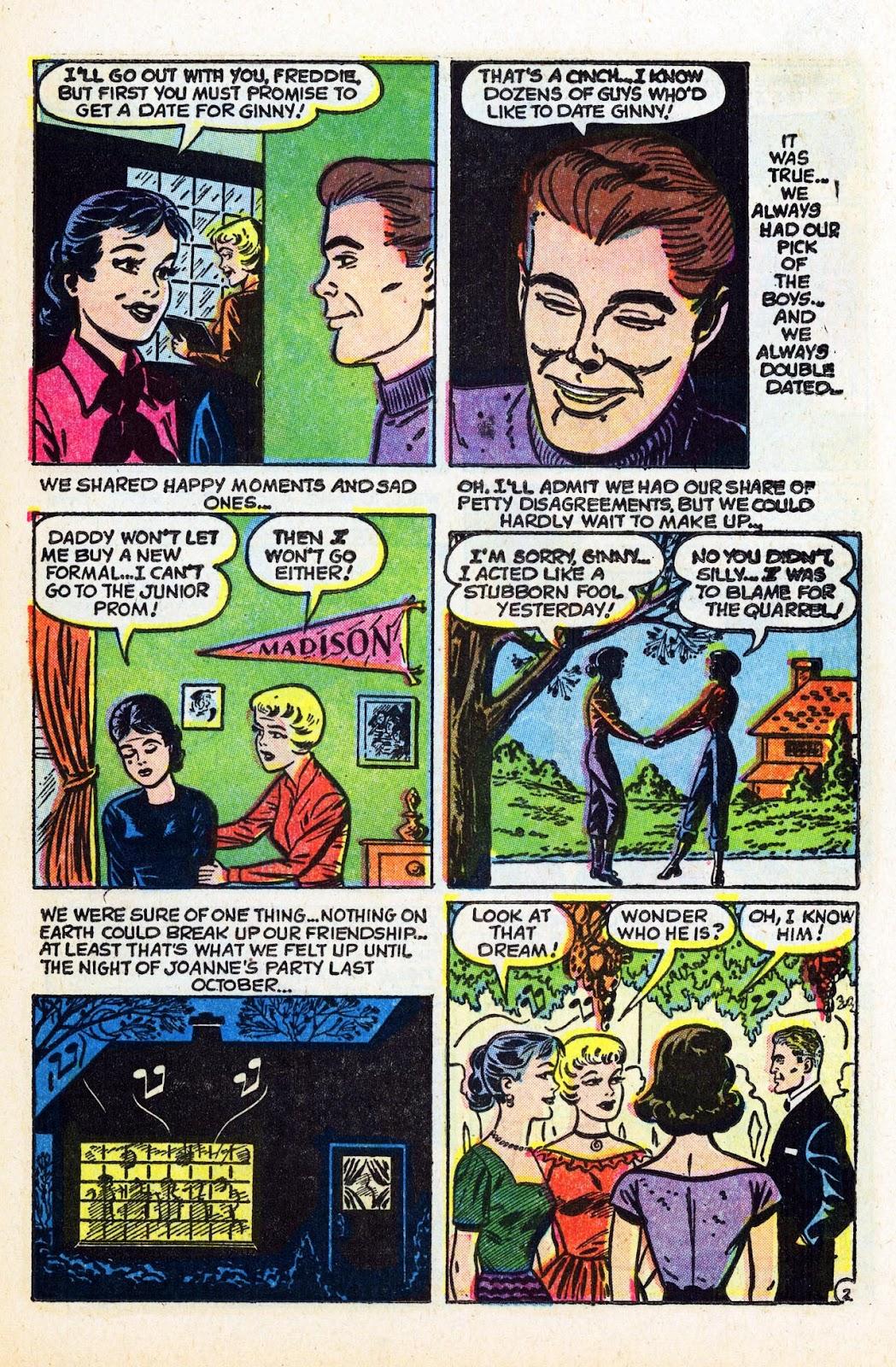 Read online Patsy Walker comic -  Issue #58 - 21