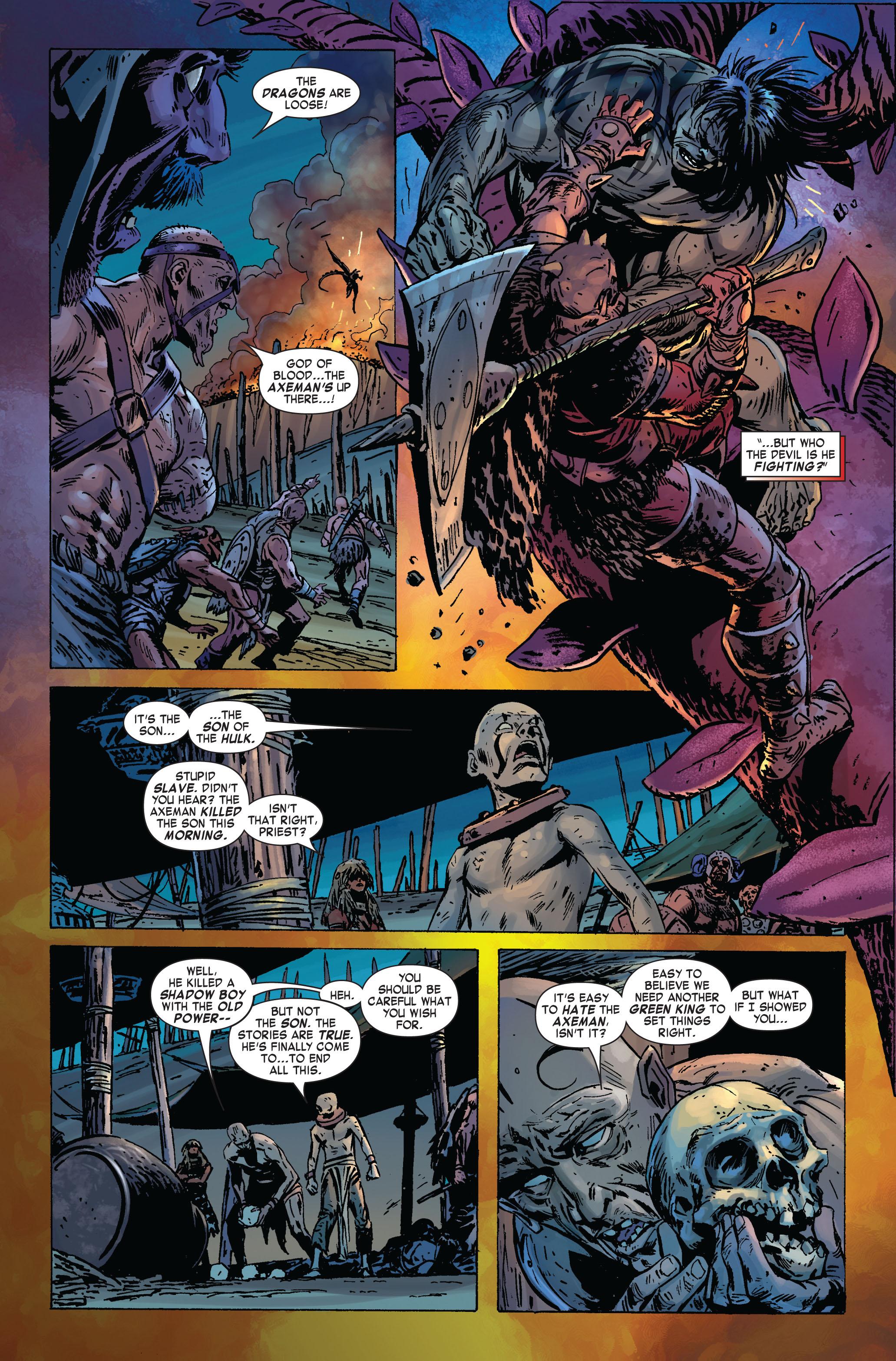Read online Skaar: Son of Hulk comic -  Issue #2 - 18