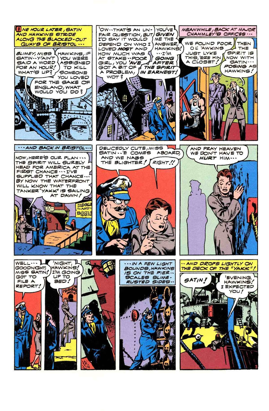 Read online Will Eisner's The Spirit Archives comic -  Issue # TPB 3 (Part 2) - 8