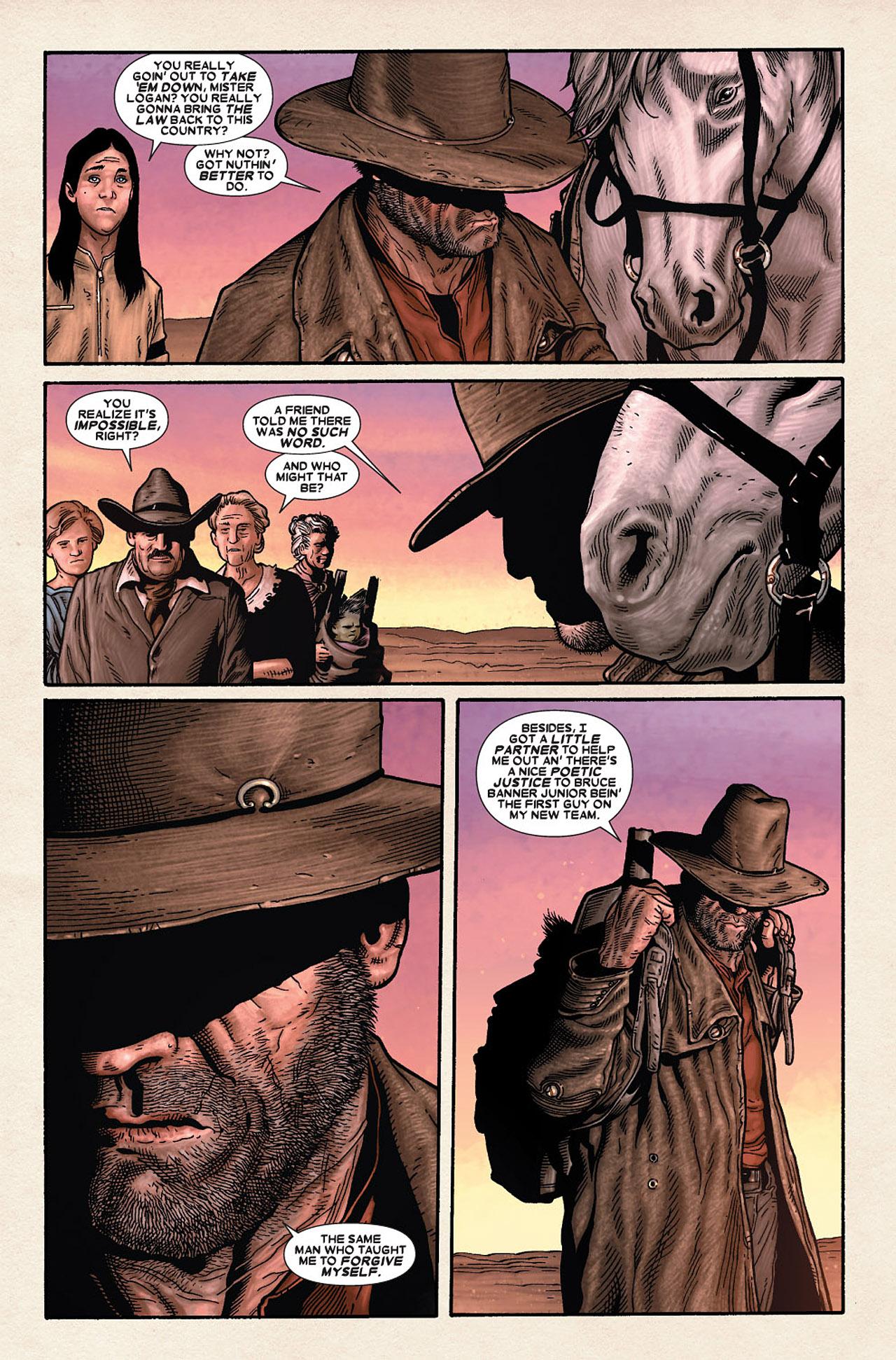 Read online Wolverine: Old Man Logan comic -  Issue # Full - 194
