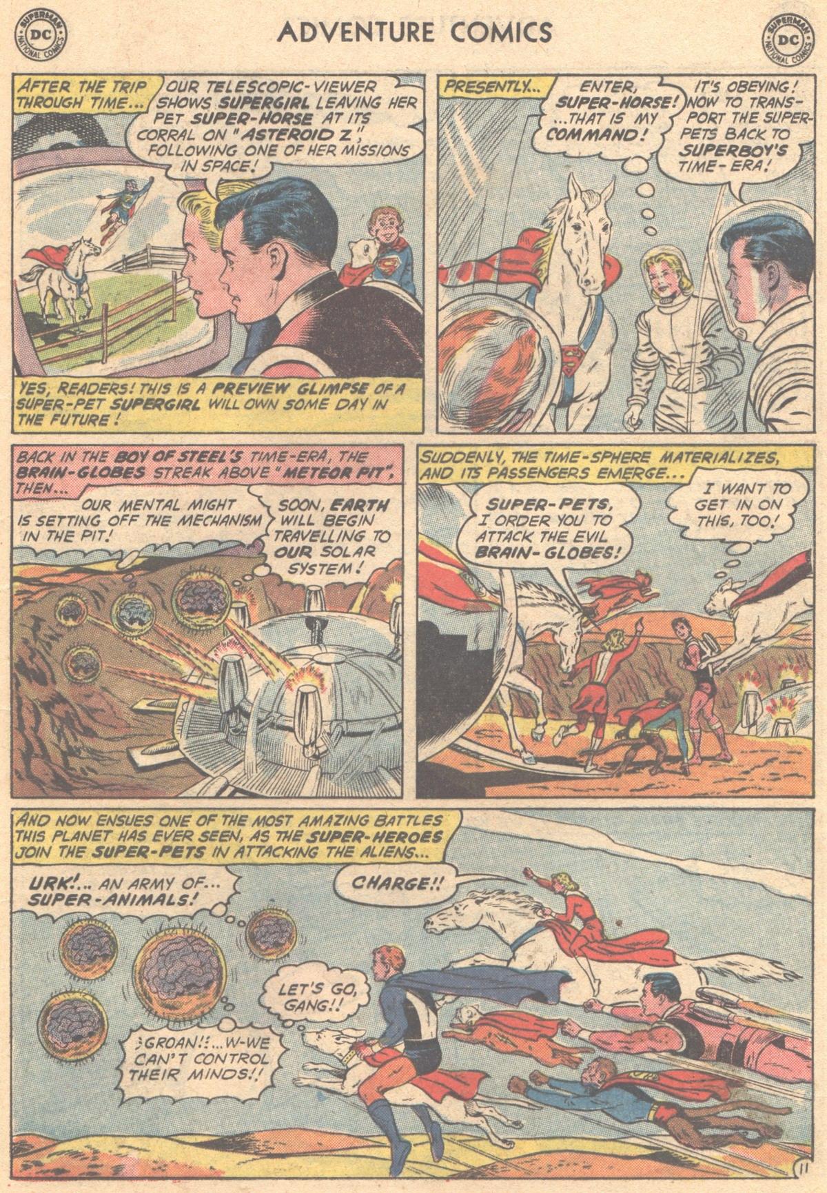 Read online Adventure Comics (1938) comic -  Issue #293 - 13