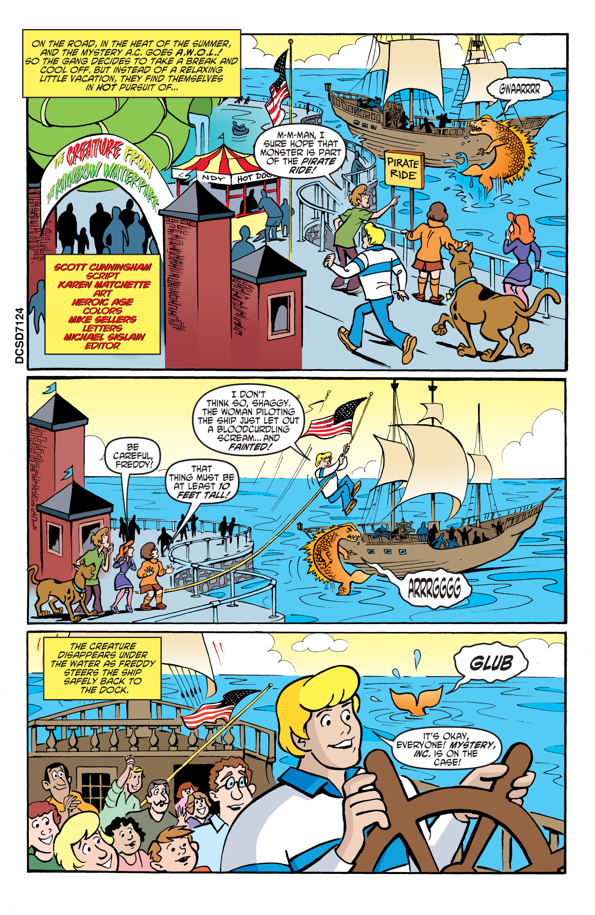 Read online Scooby-Doo: Where Are You? comic -  Issue #62 - 20