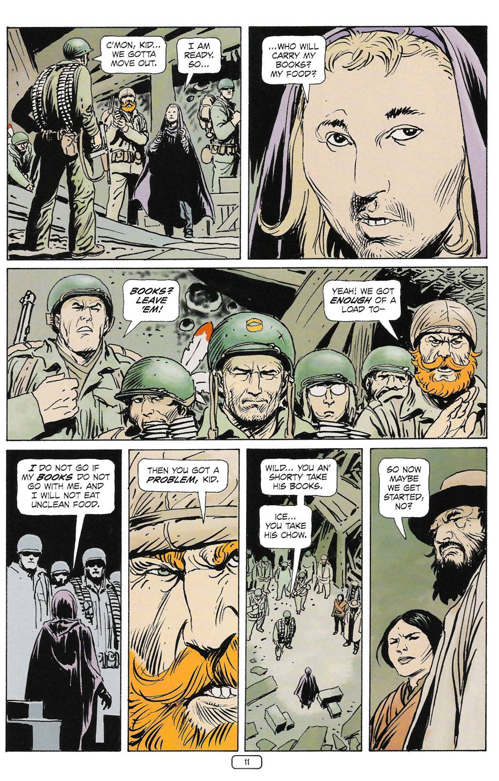 Read online Sgt. Rock: The Prophecy comic -  Issue #2 - 12
