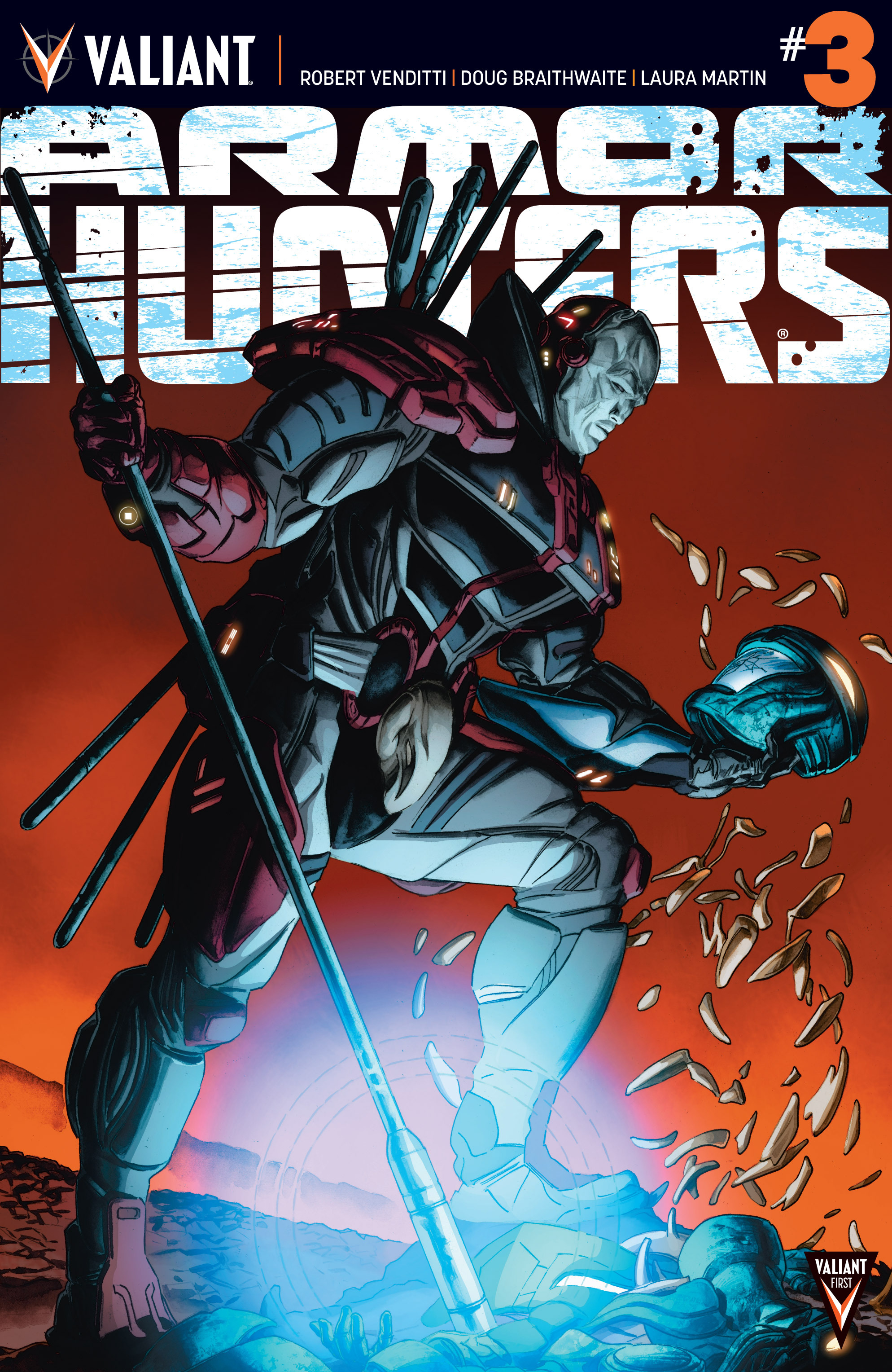 Read online Armor Hunters comic -  Issue #3 - 1