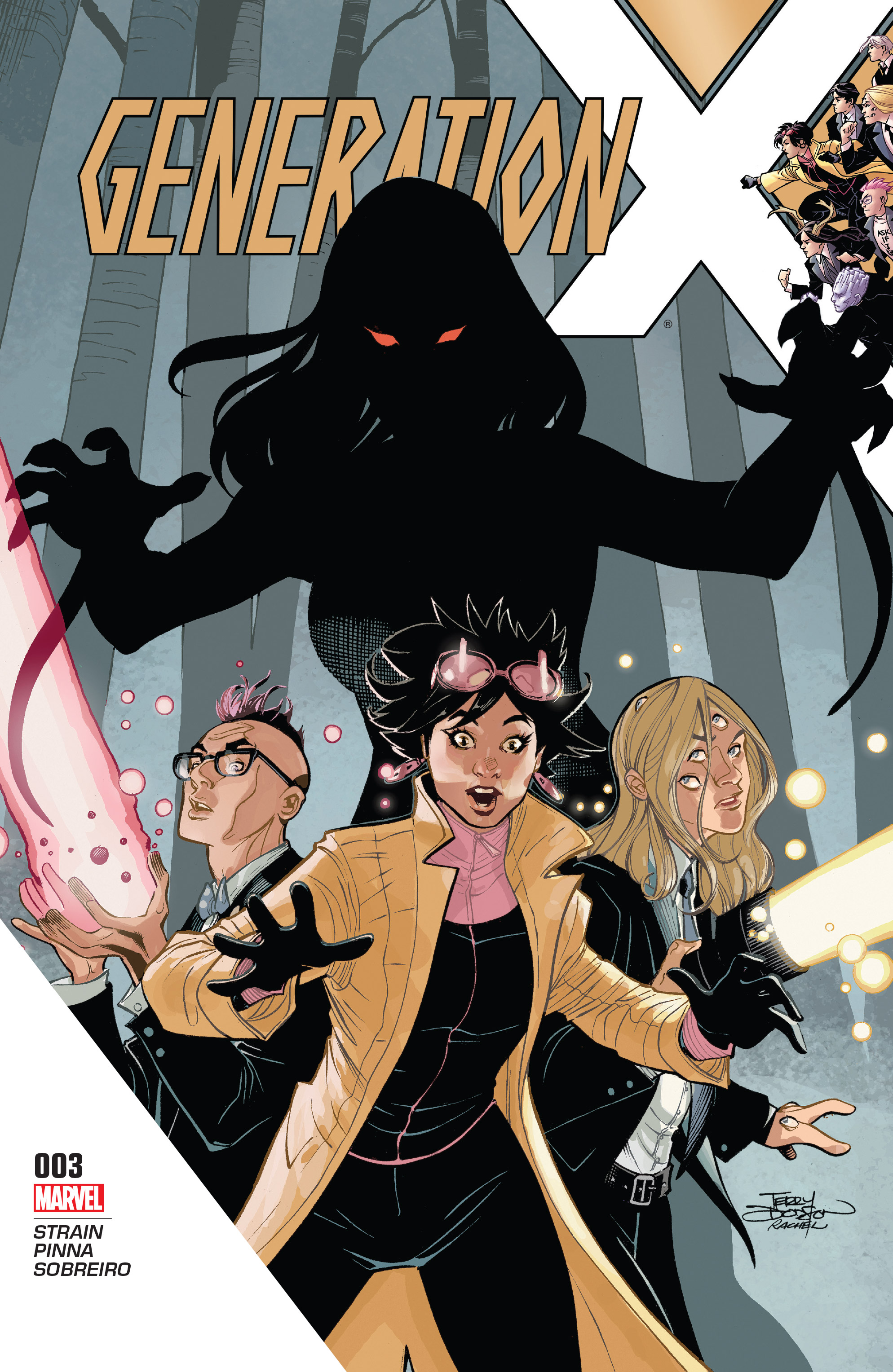 Read online Generation X (2017) comic -  Issue #3 - 1