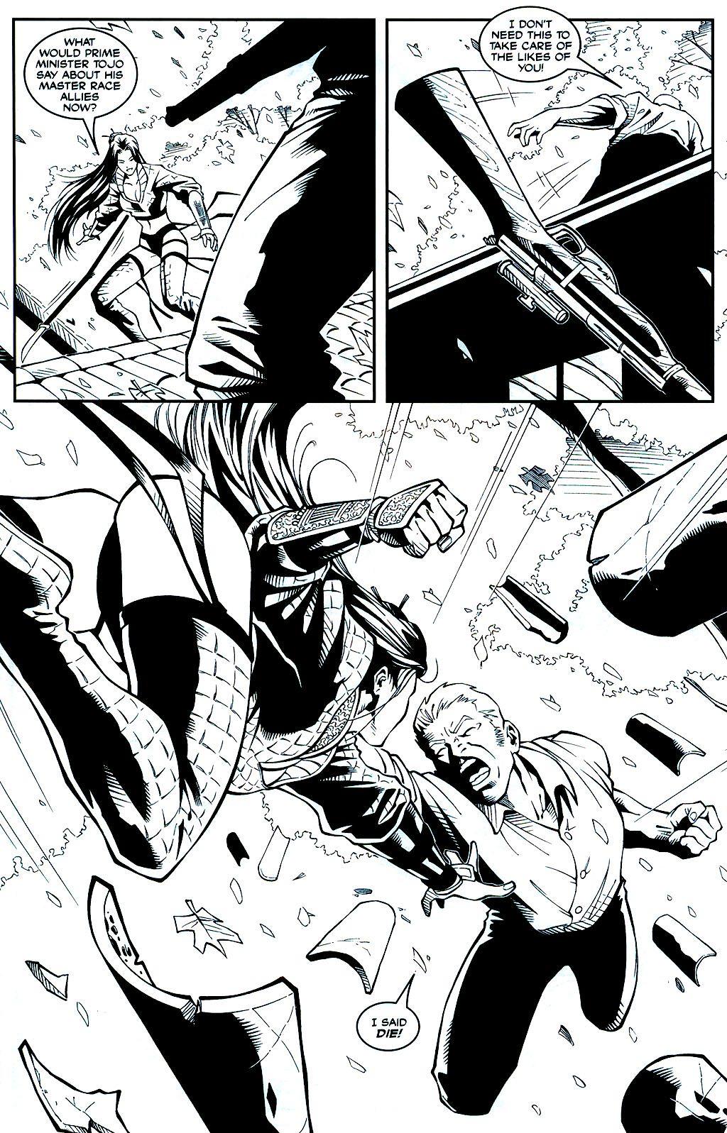Read online Shi: Sempo comic -  Issue #1 - 10