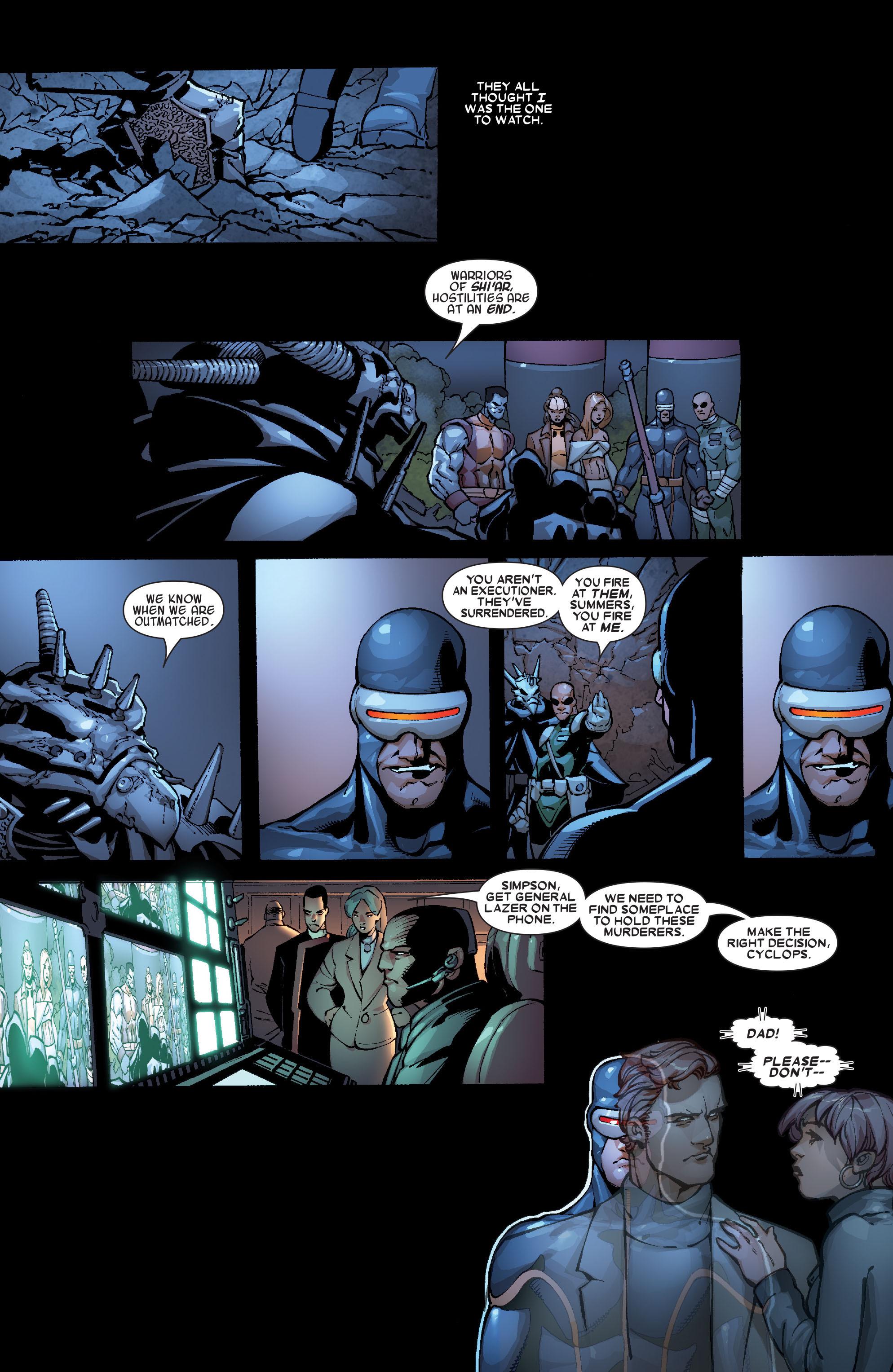 Read online Uncanny X-Men (1963) comic -  Issue #468 - 17