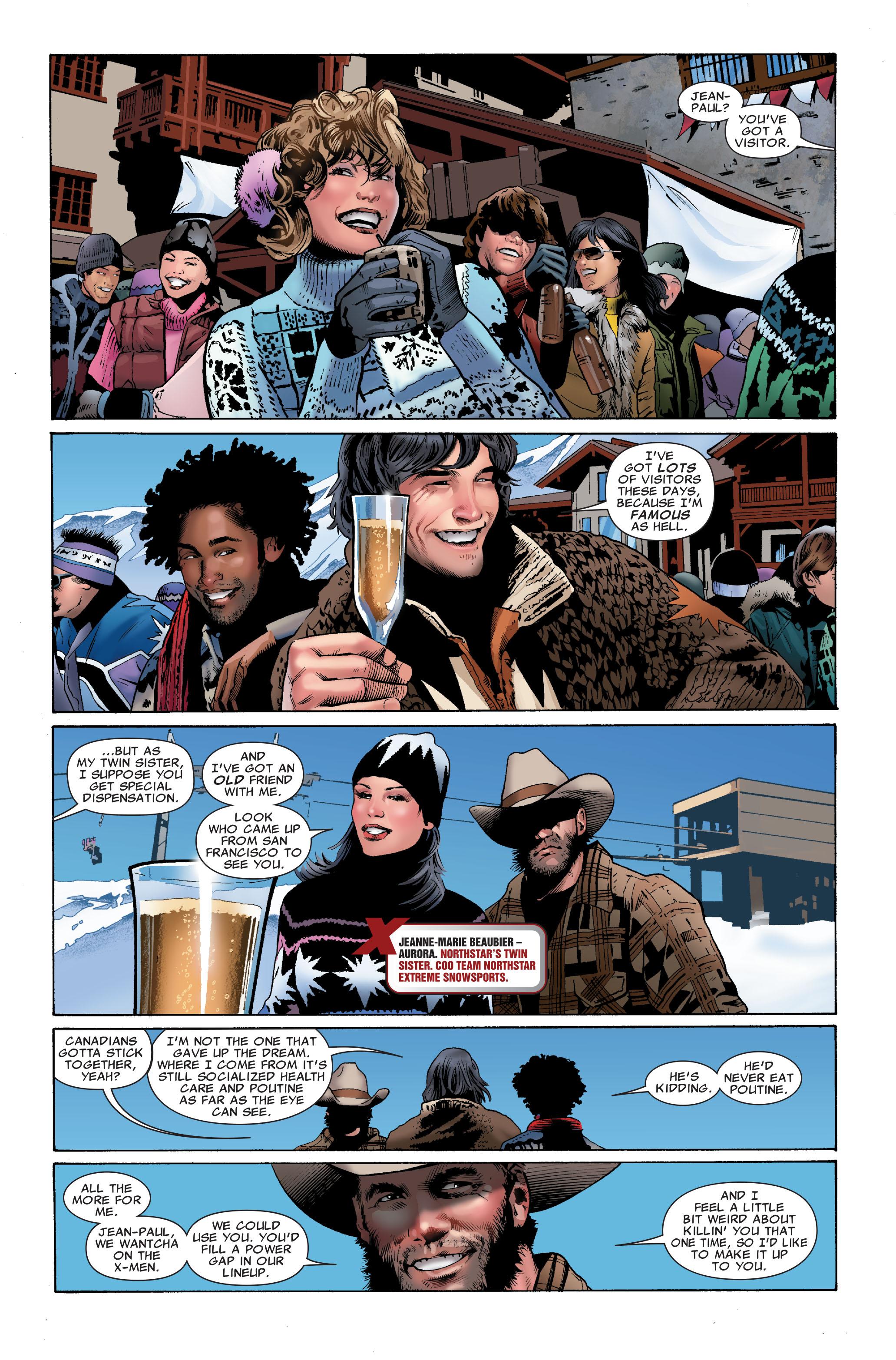 Read online Uncanny X-Men (1963) comic -  Issue #508 - 21