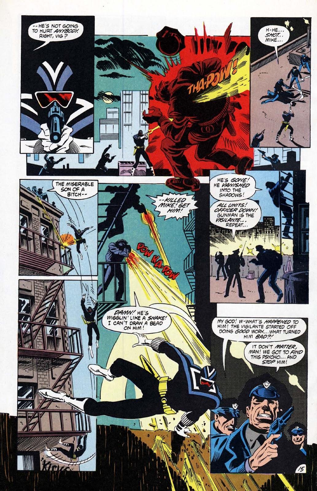 Vigilante (1983) issue 20 - Page 16